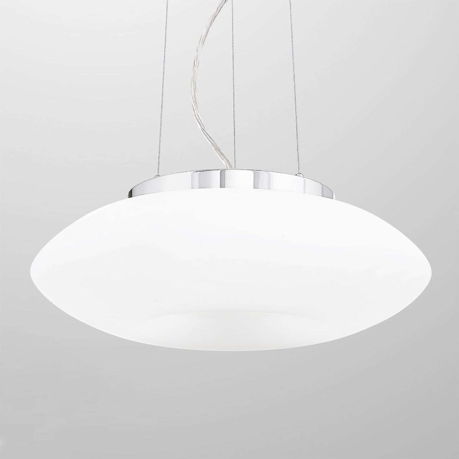 Suspension blanche Conny 40 cm