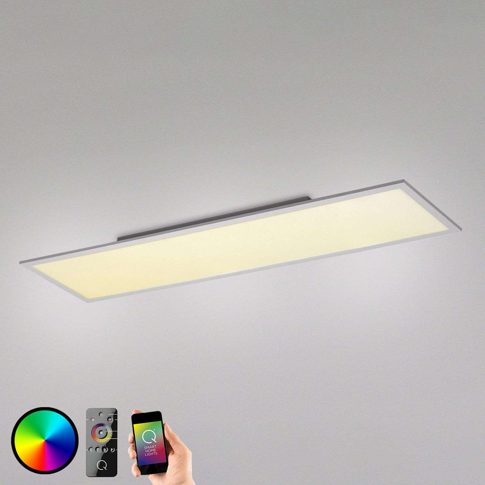 Plafonnier LED carré Q-Flag