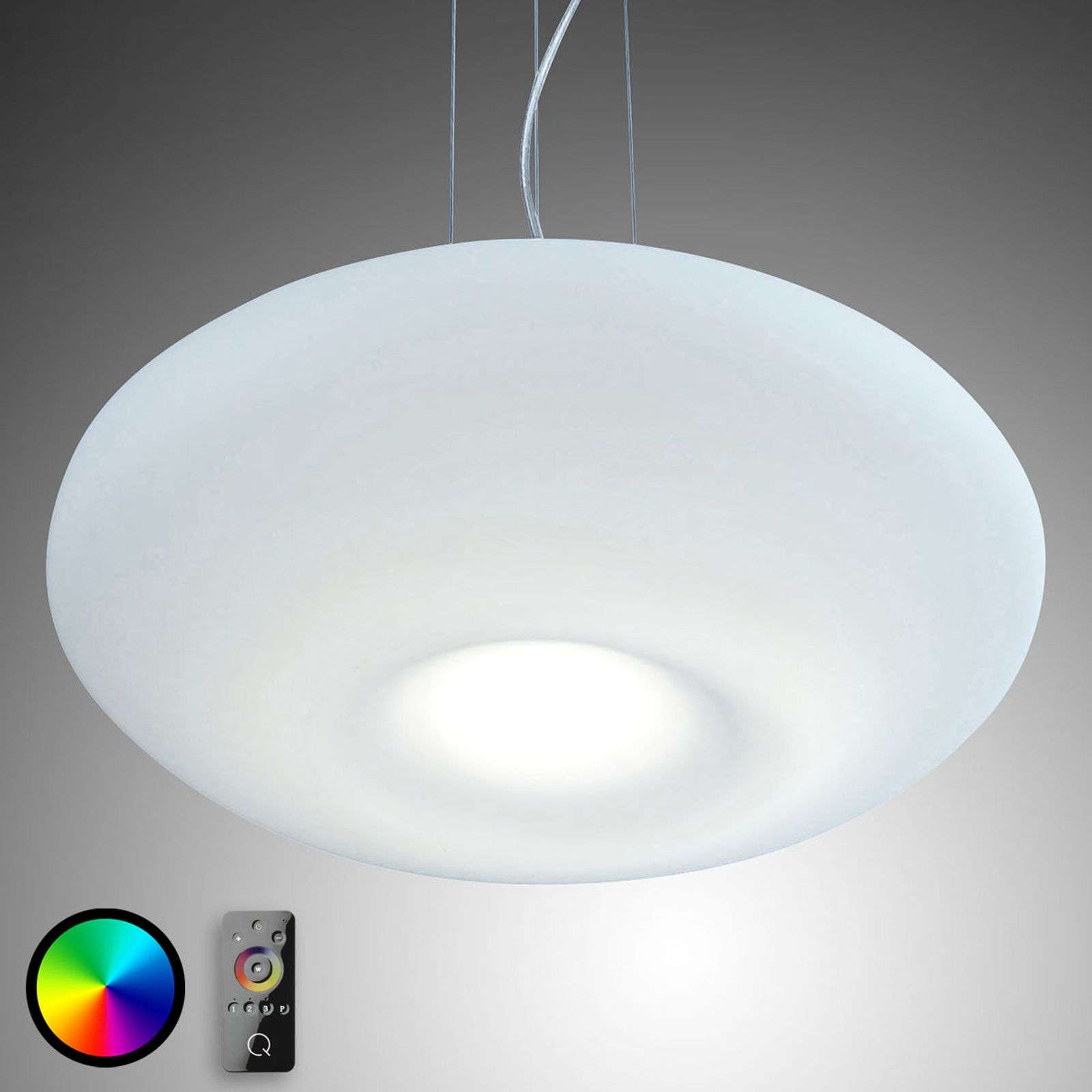 Lumière variable - Suspension LED Q-Elina