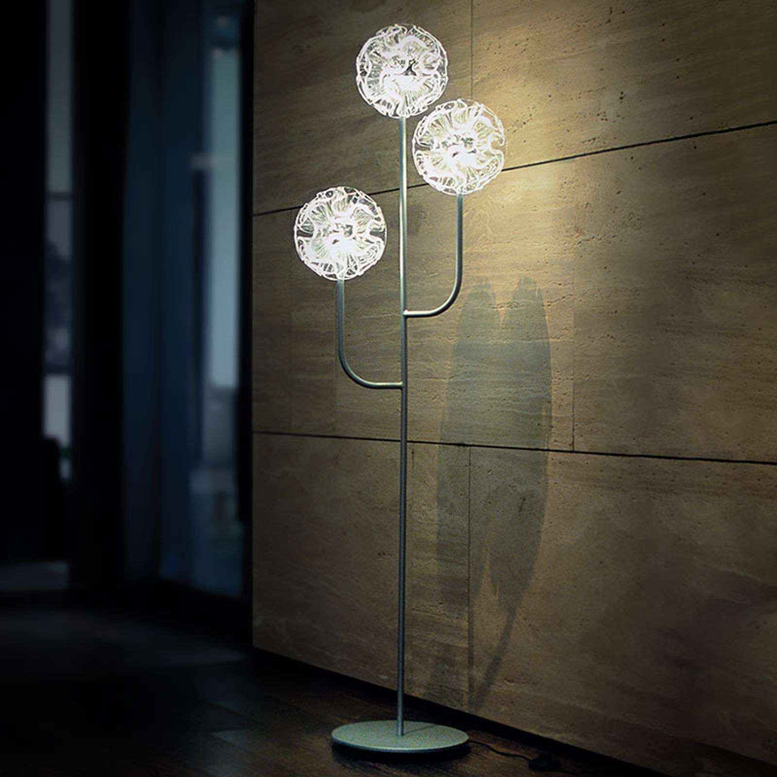 Lampadaire LED Coral au design chic