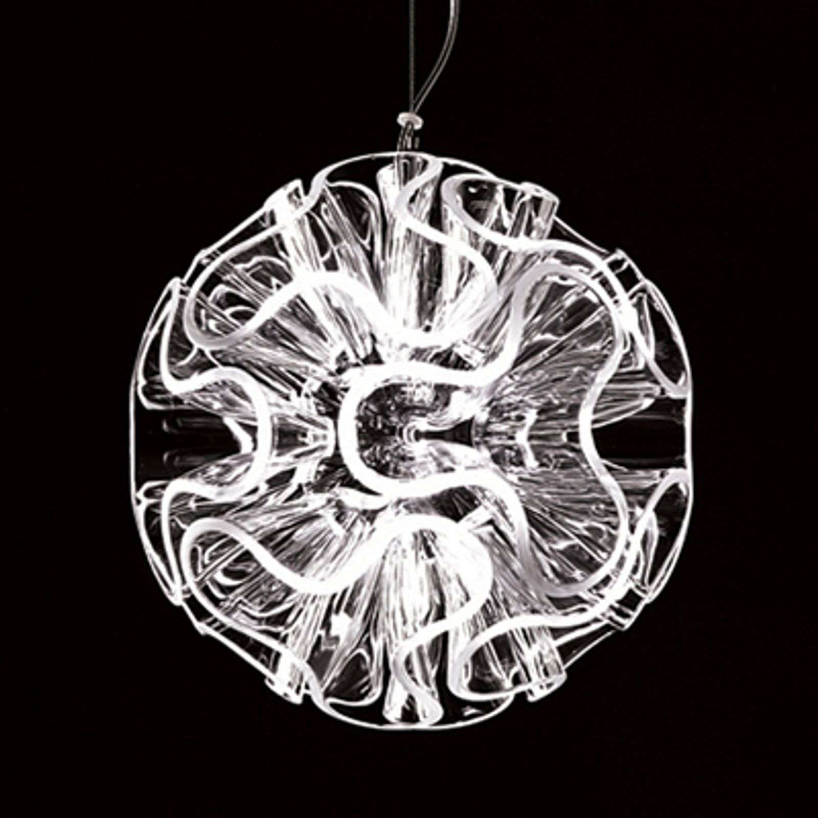 Lampe à suspension LED sphérique Coral,transparent