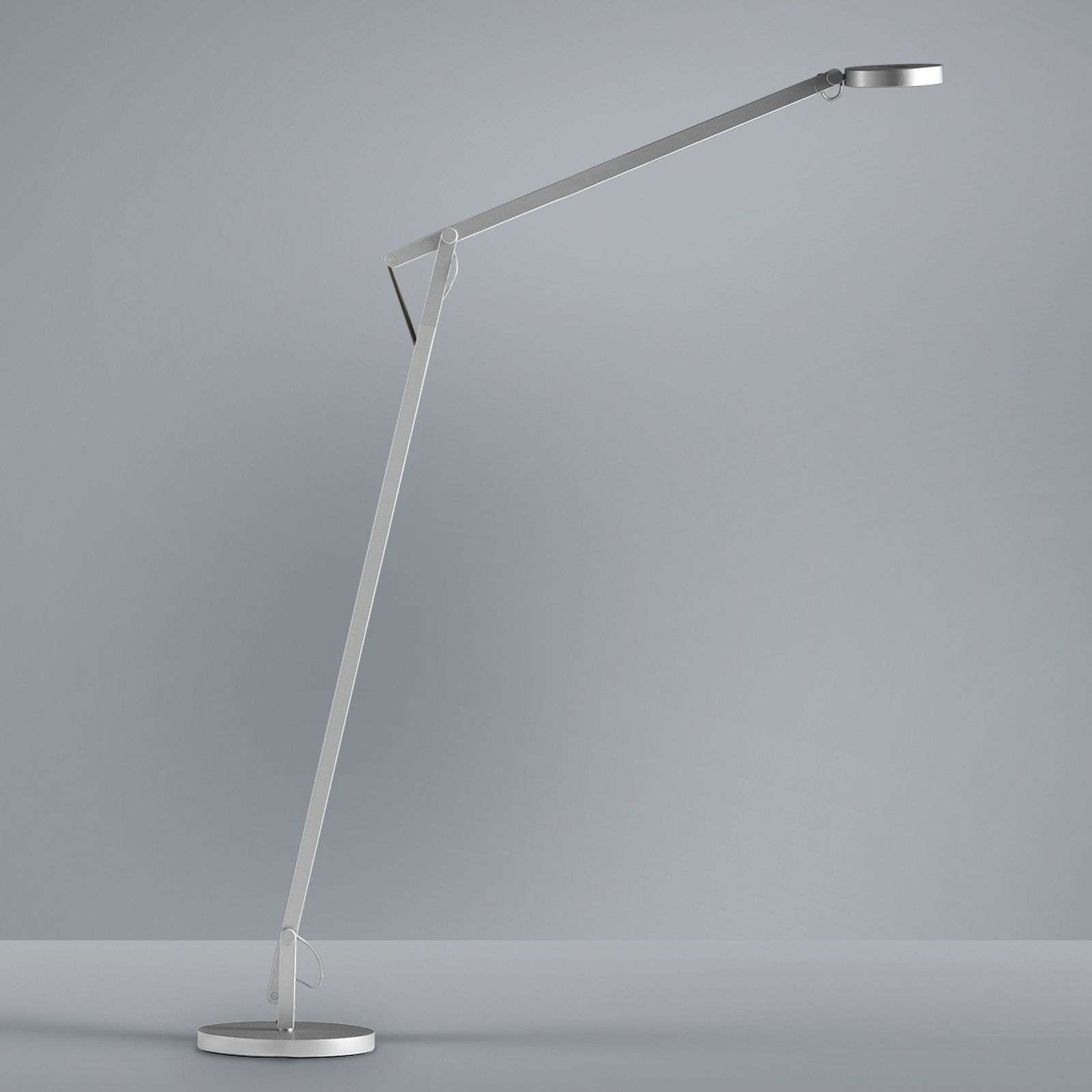 Rotaliana String - lampadaire LED flexible argenté
