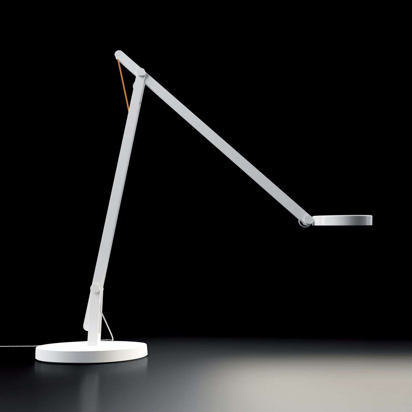 Lampe à poser LED Rotaliana String, blanche