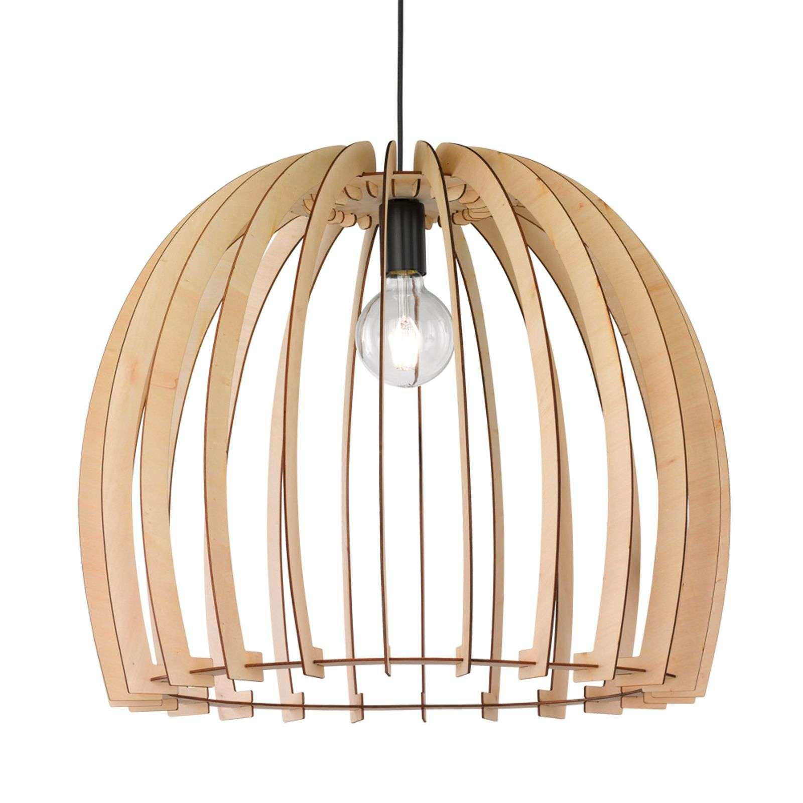 Élégante suspension en bois Wood