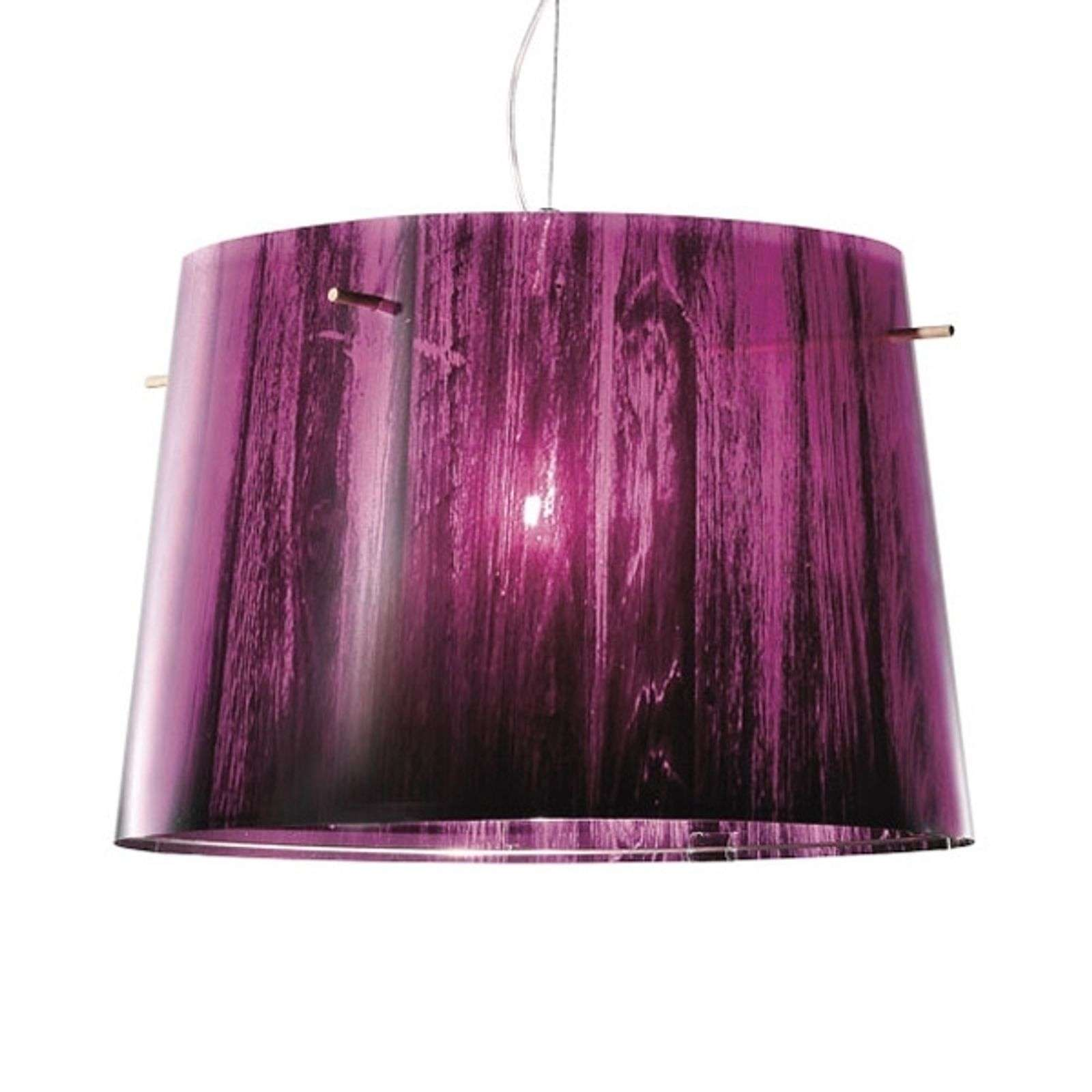 Joli dégradé coloré - Suspension Woody, violet