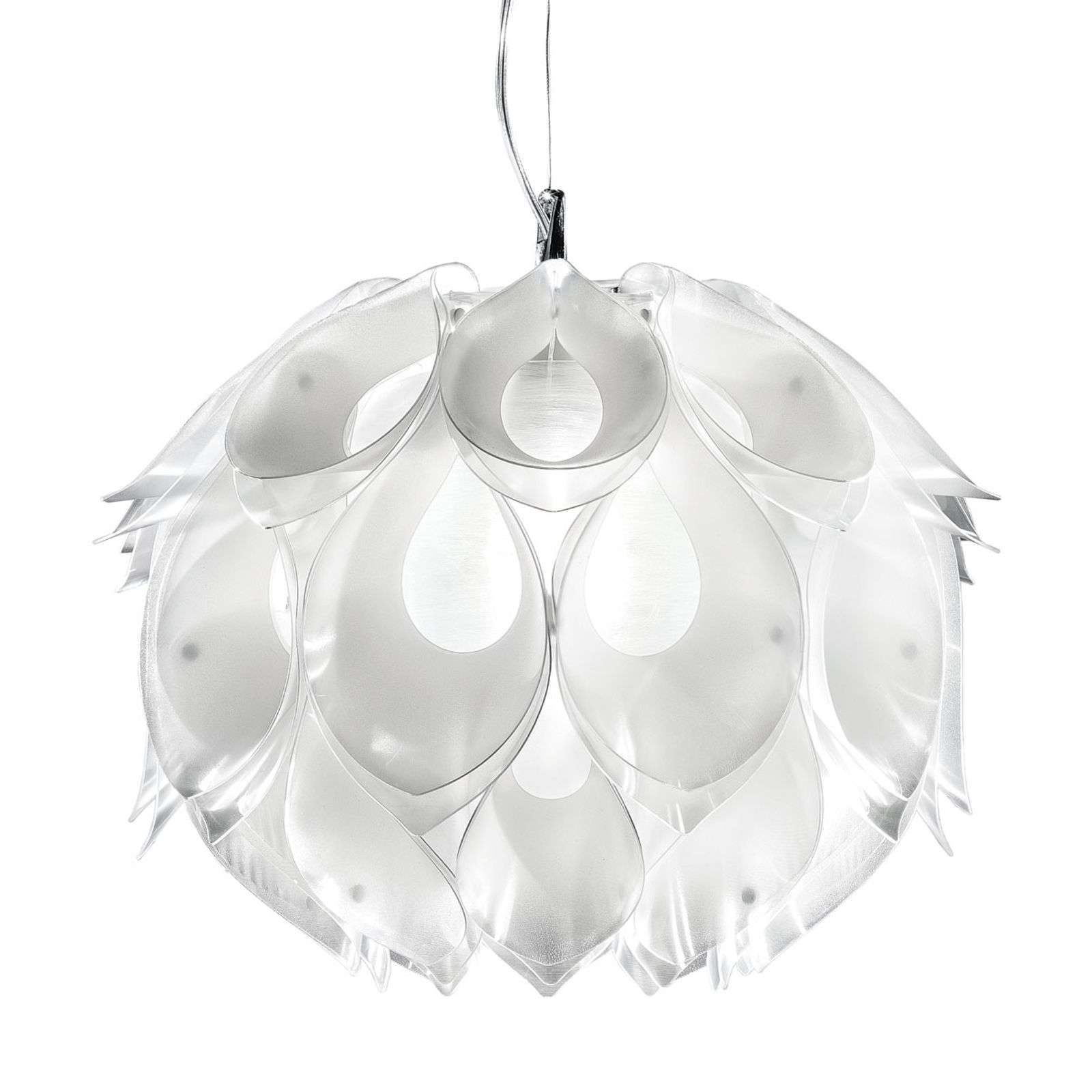 Suspension naturelle Flora S, blanc