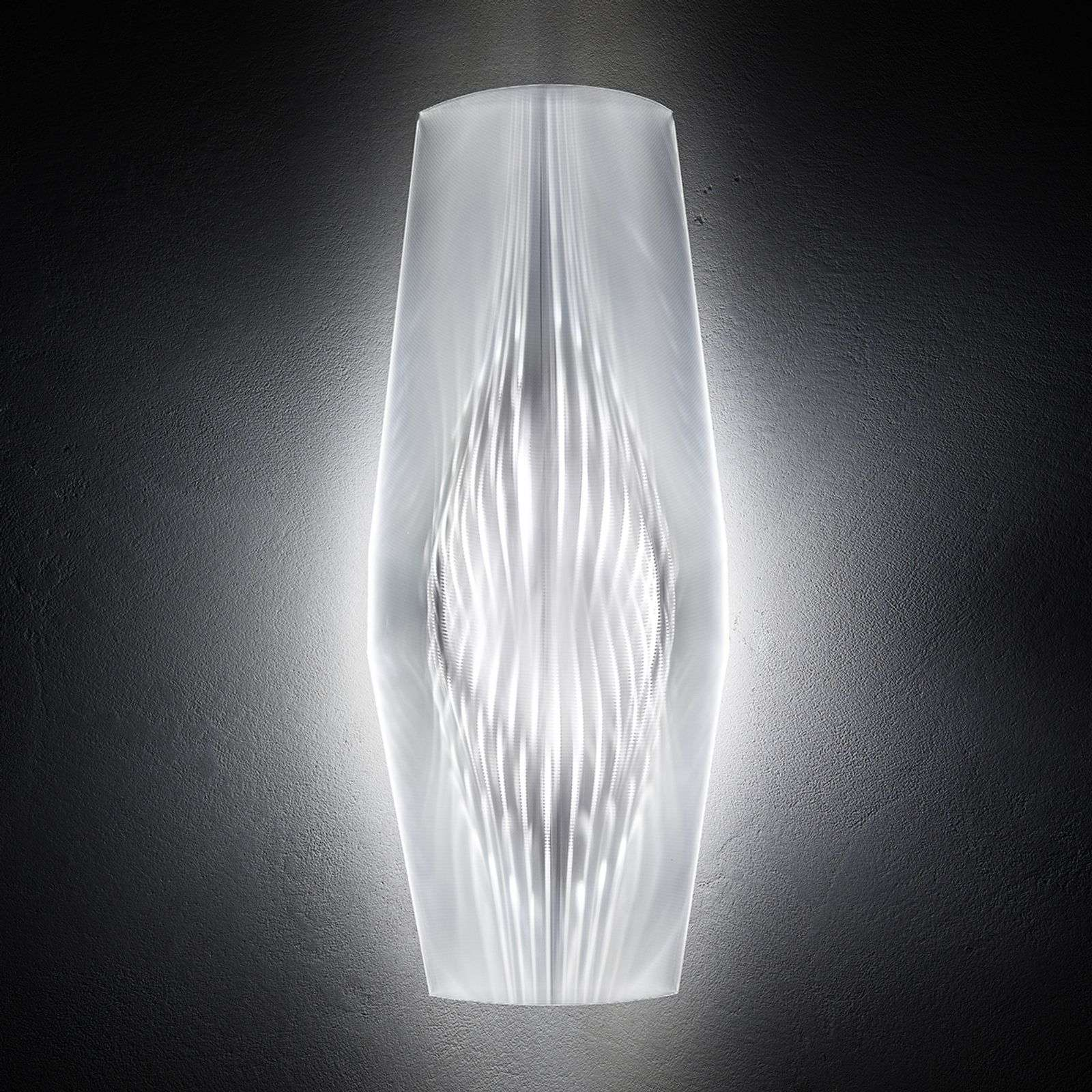 Applique de designer LED transparente Mirage