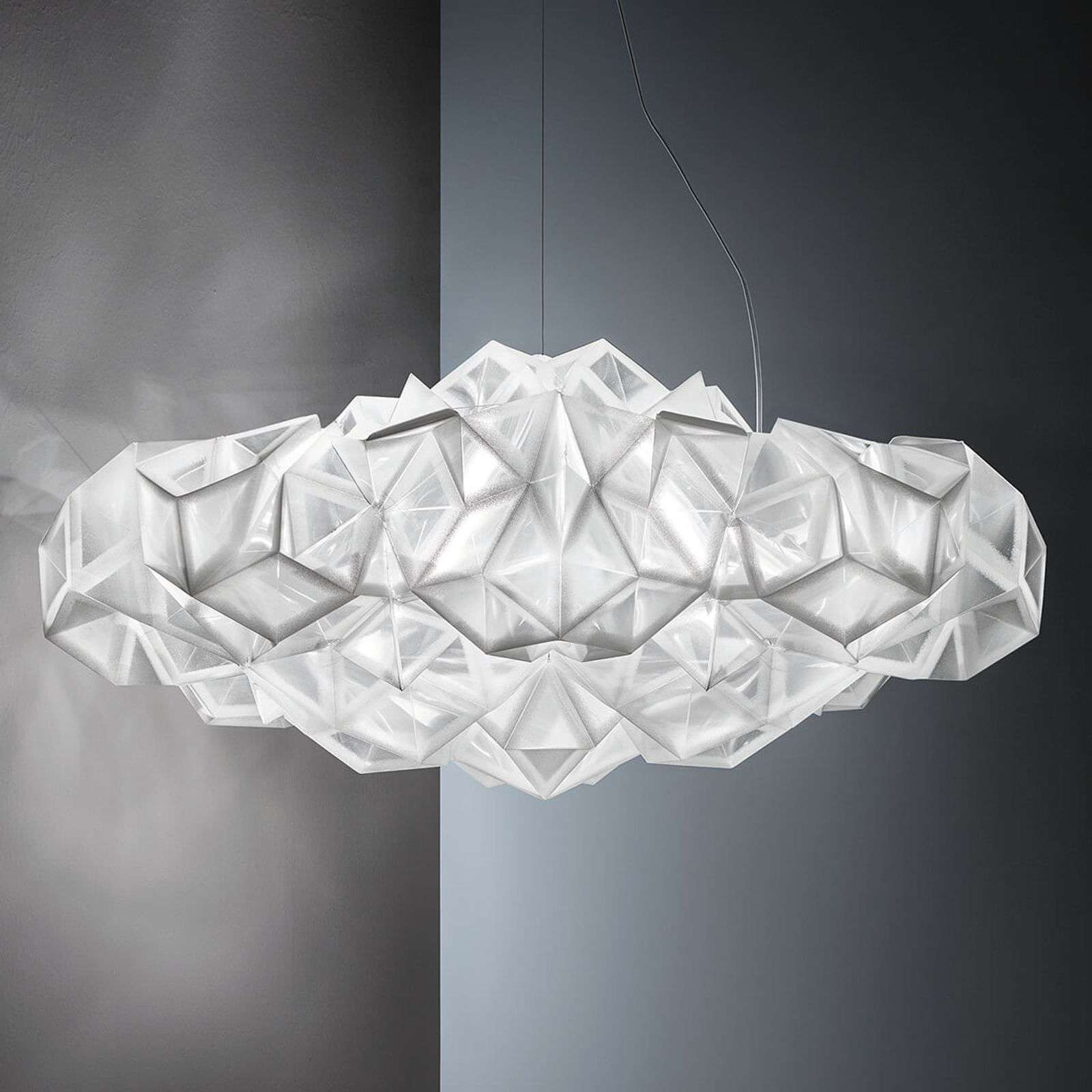 Slamp Drusa - suspension de designer, blanc