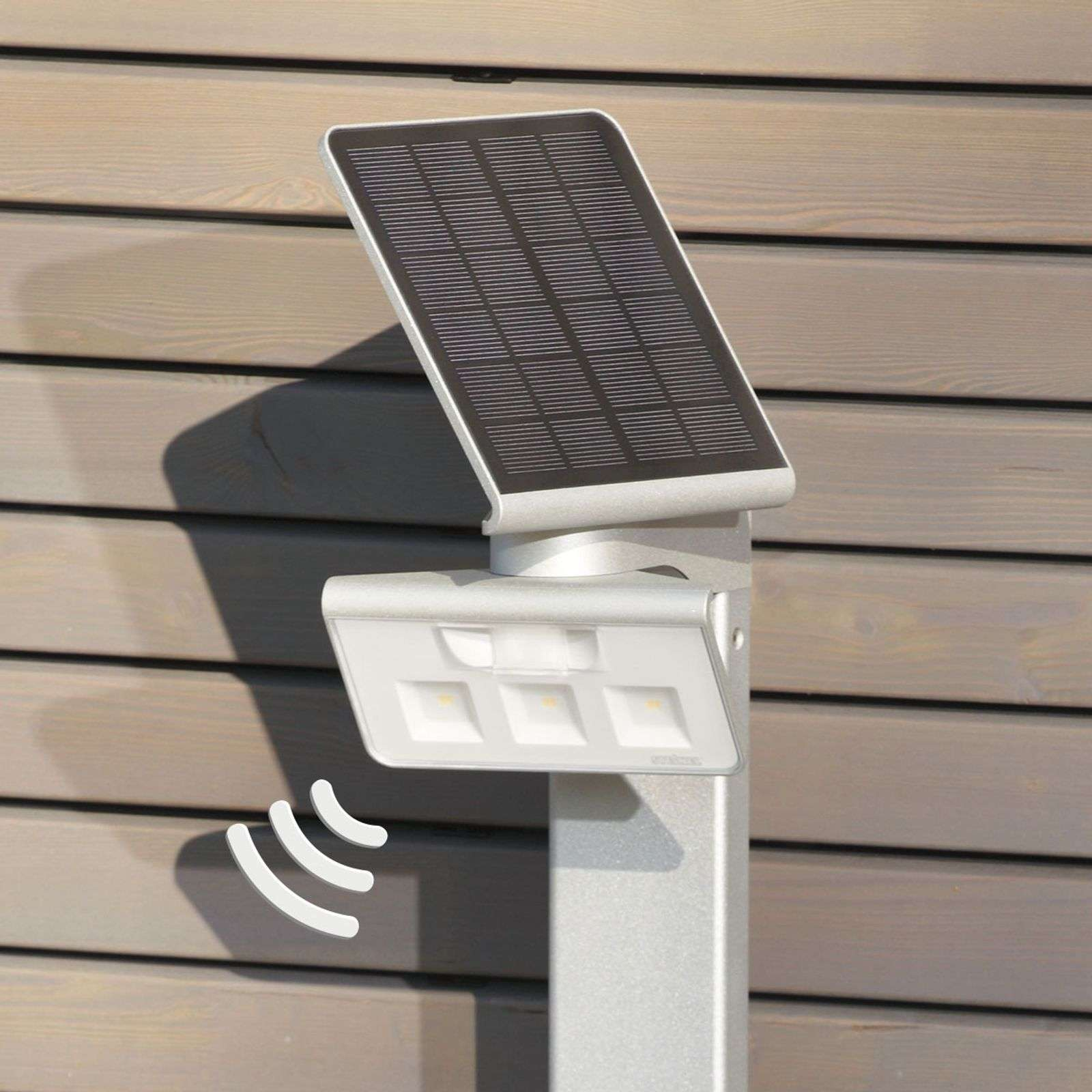 Applique LED solaire XSolar Stand blanche