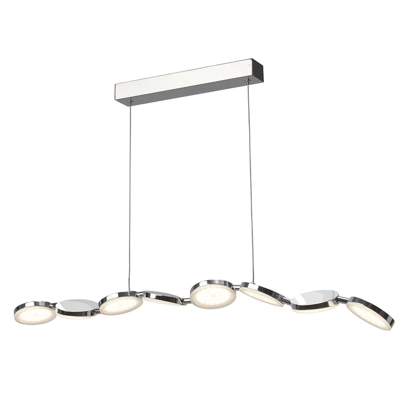 Suspension LED longue et flexible Konge