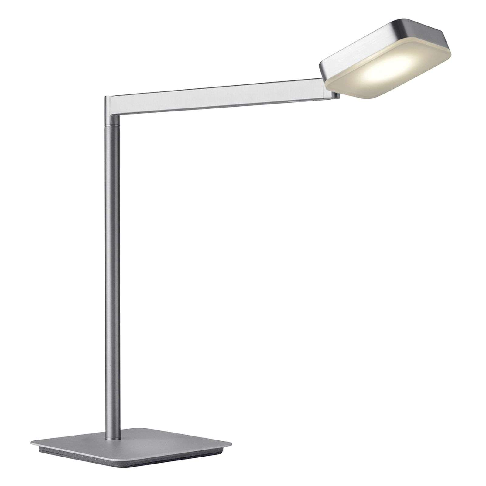 Lampe à poser LED Finesse carrée, dimmable