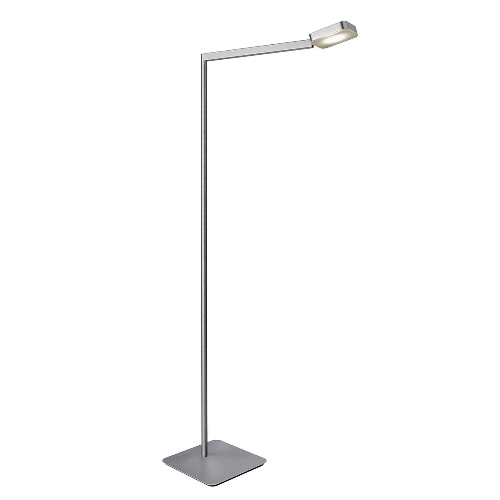 Lampadaire LED anguleux Finesse, dimmable