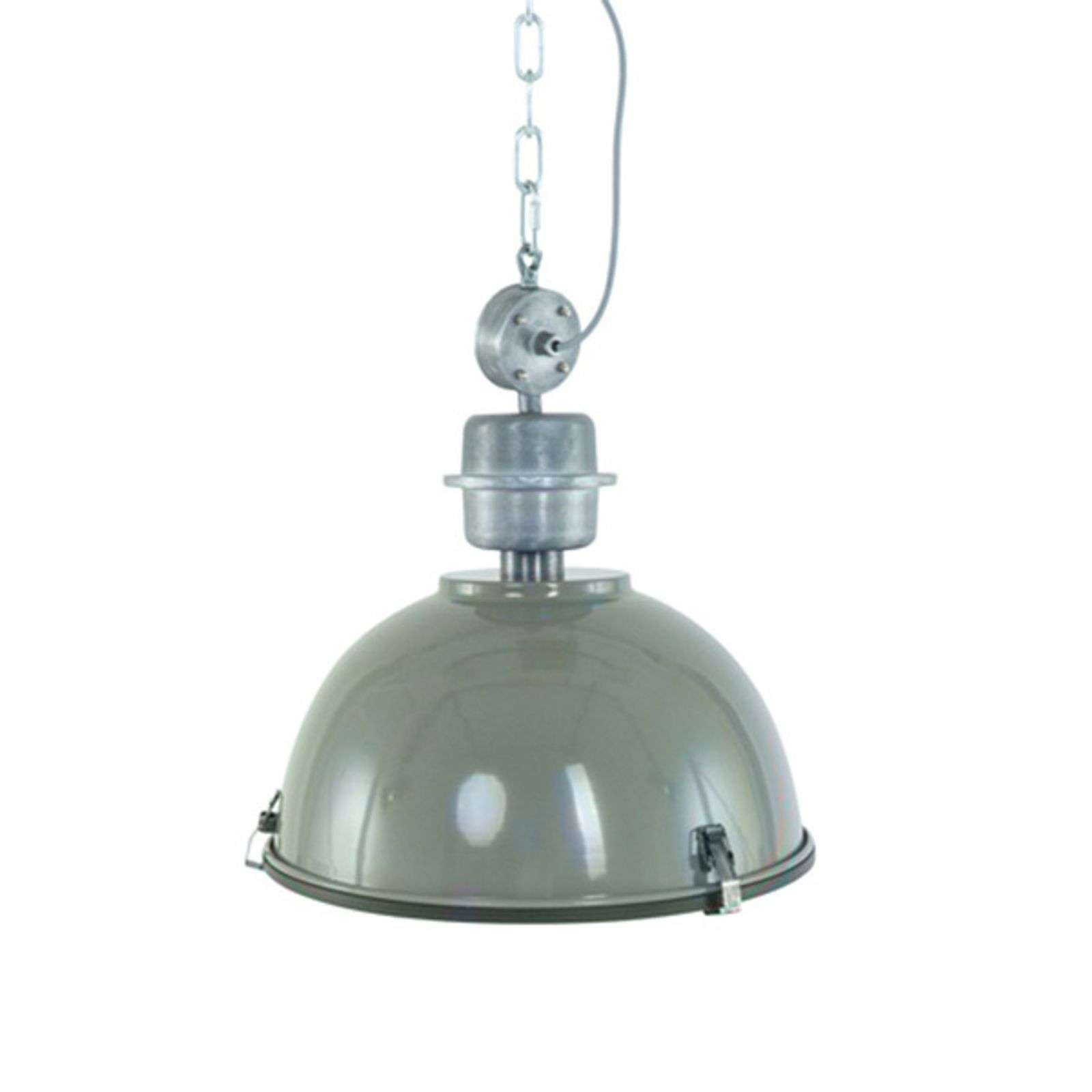 Bikkel - Suspension industrielle vert olive