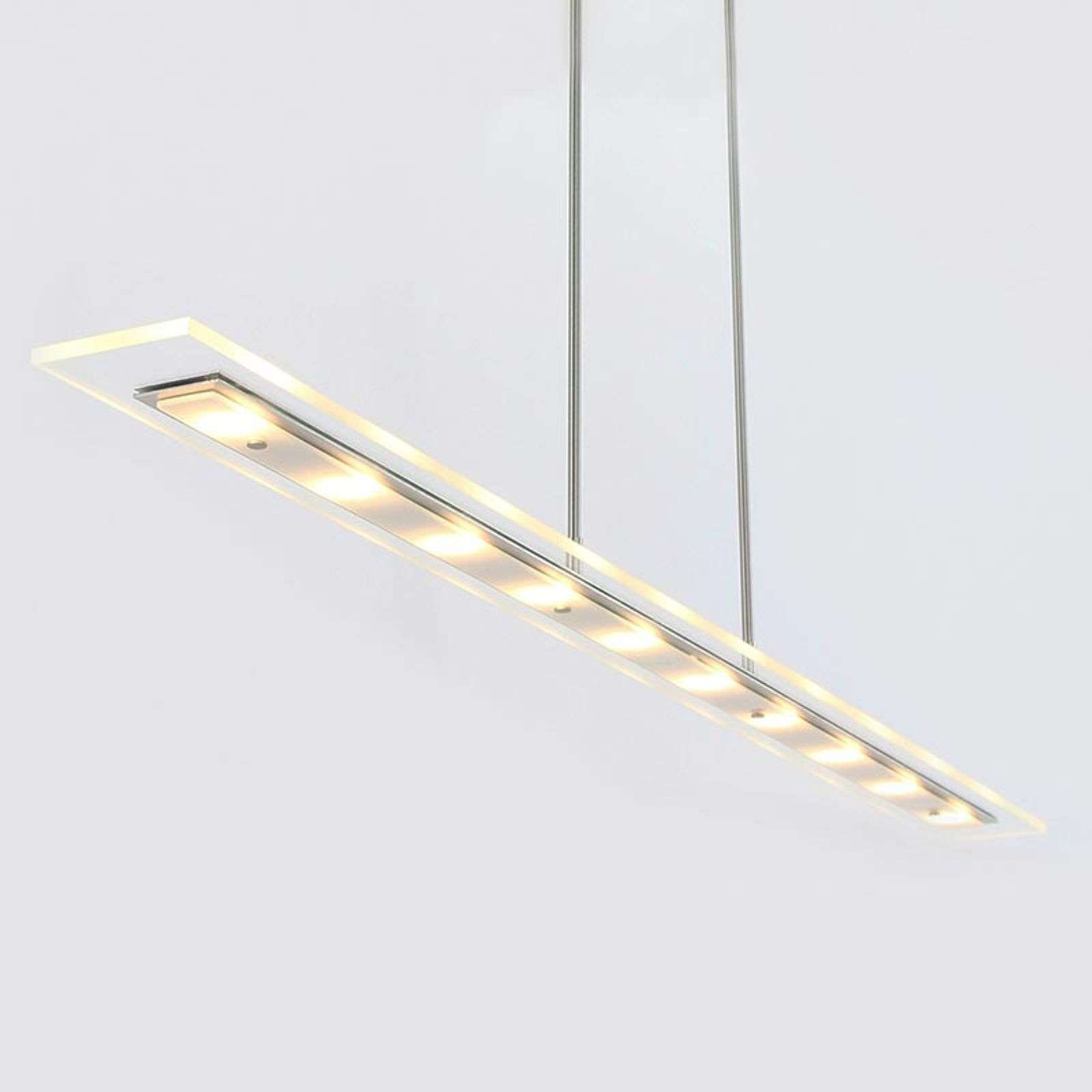 Suspension LED Plato 140cm clair, dimmable