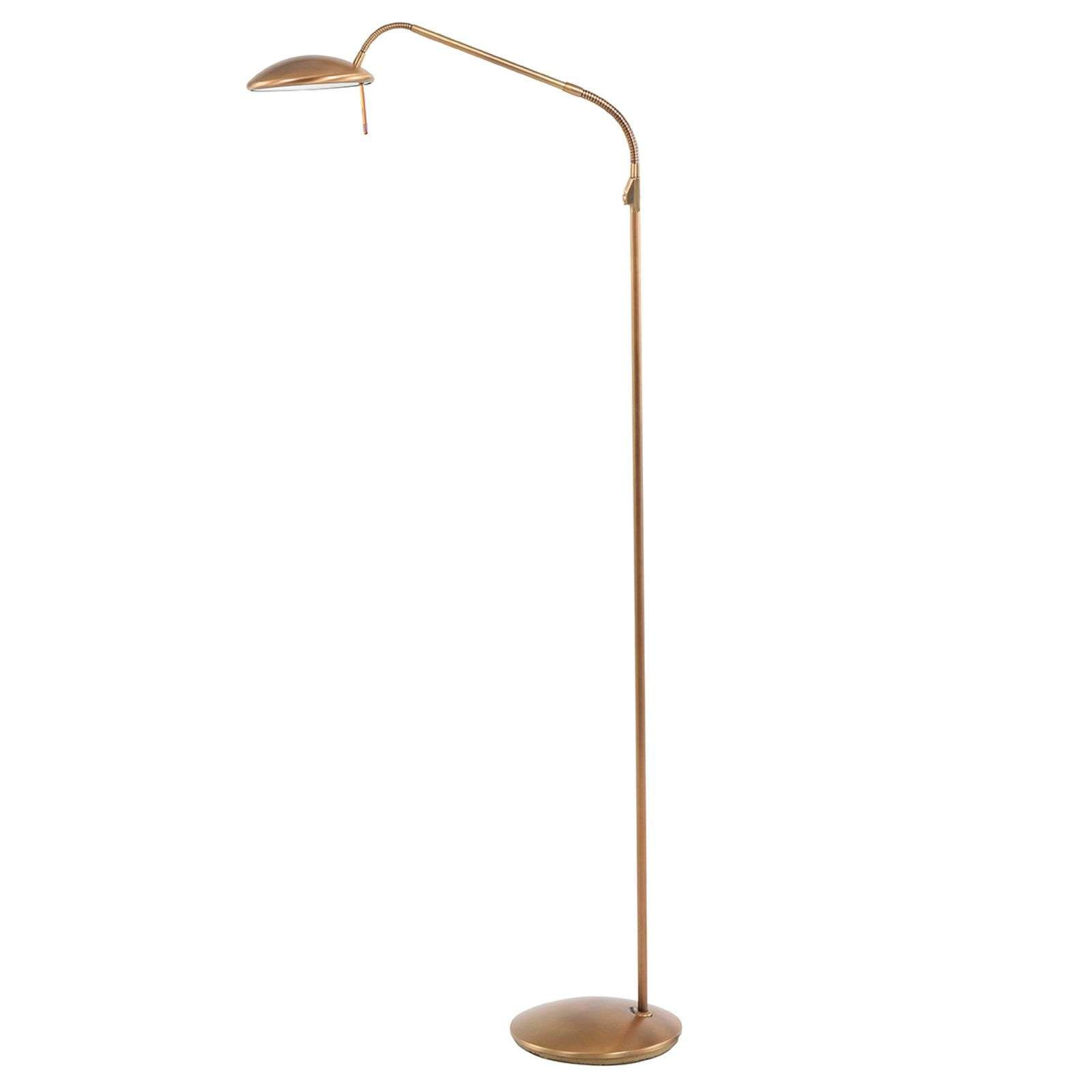 Lampadaire LED Bronze Diamond dimmable