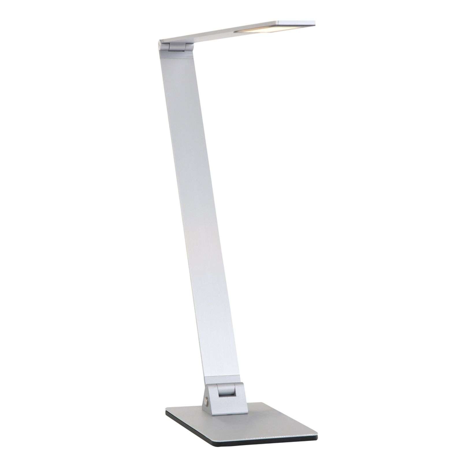 Lampe à poser LED Serenade dimmable acier