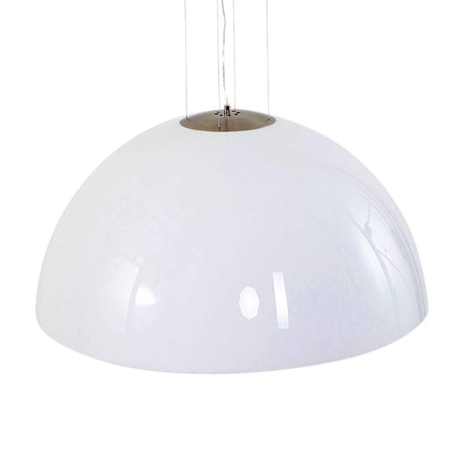 Grande suspension blanche Skylight Dome