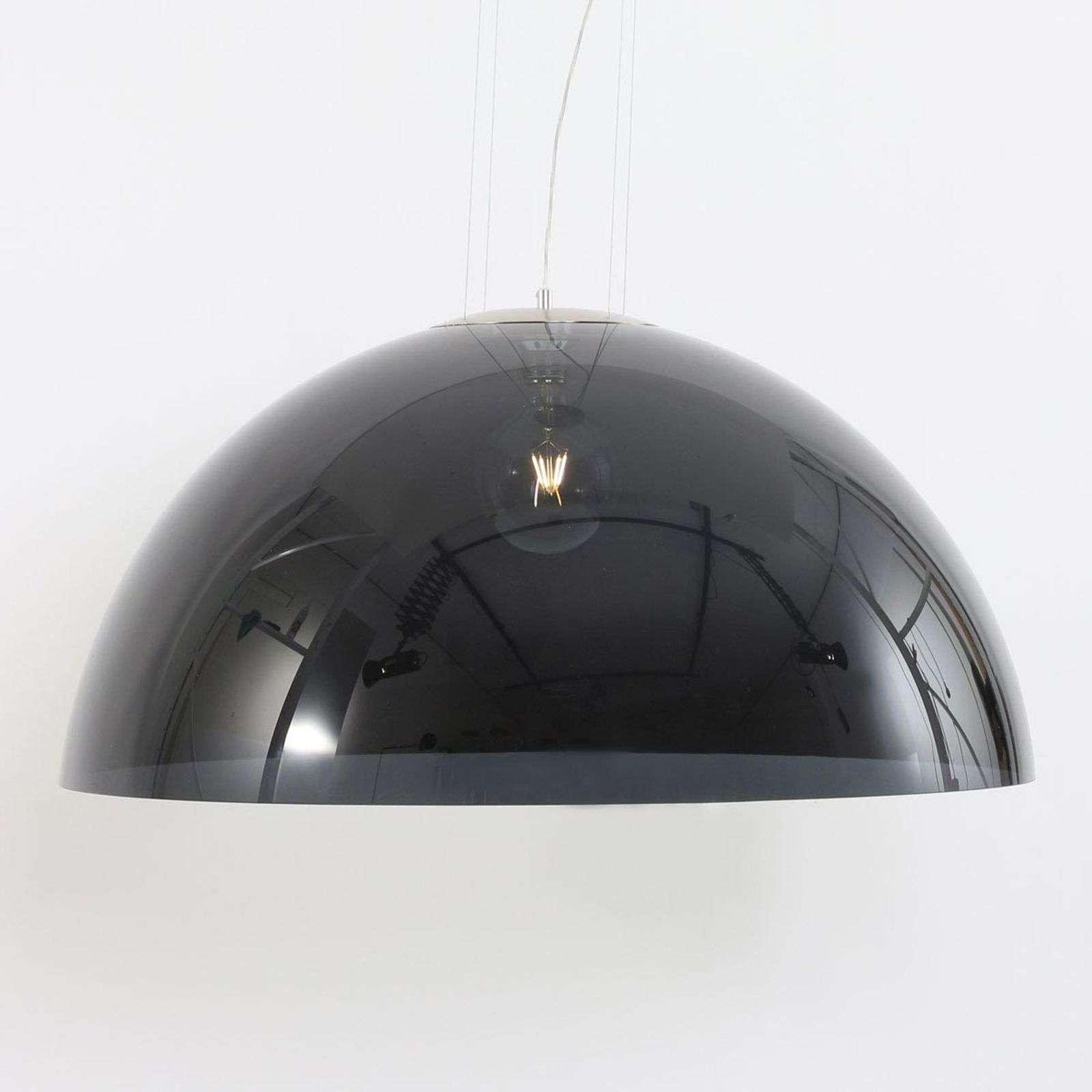 Suspension noir Skylight Dome