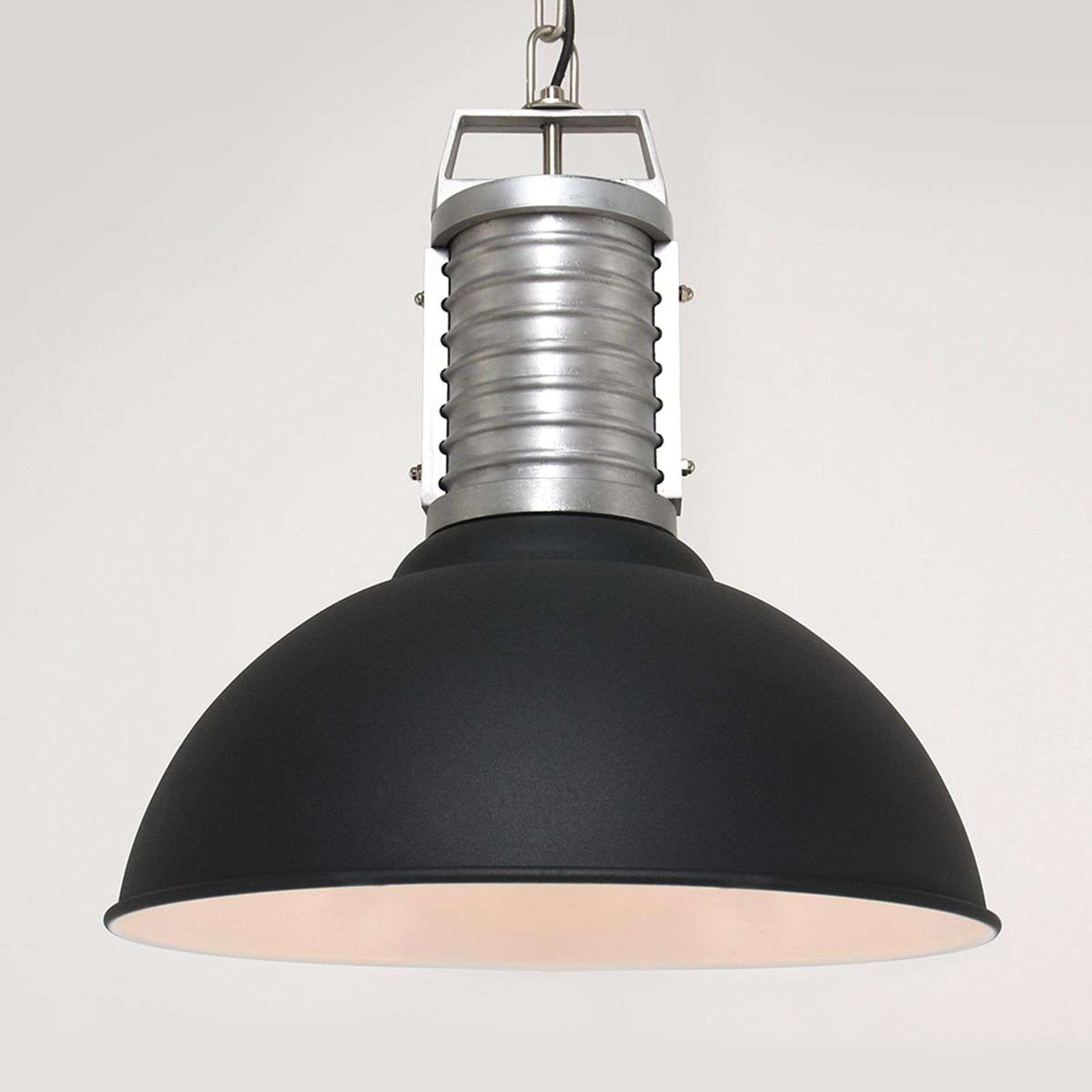 Suspension Oncle Phillipe en noir mat