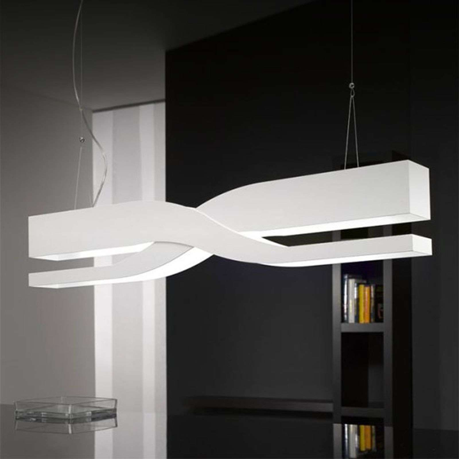 Suspension design Fifi 60 cm blanche