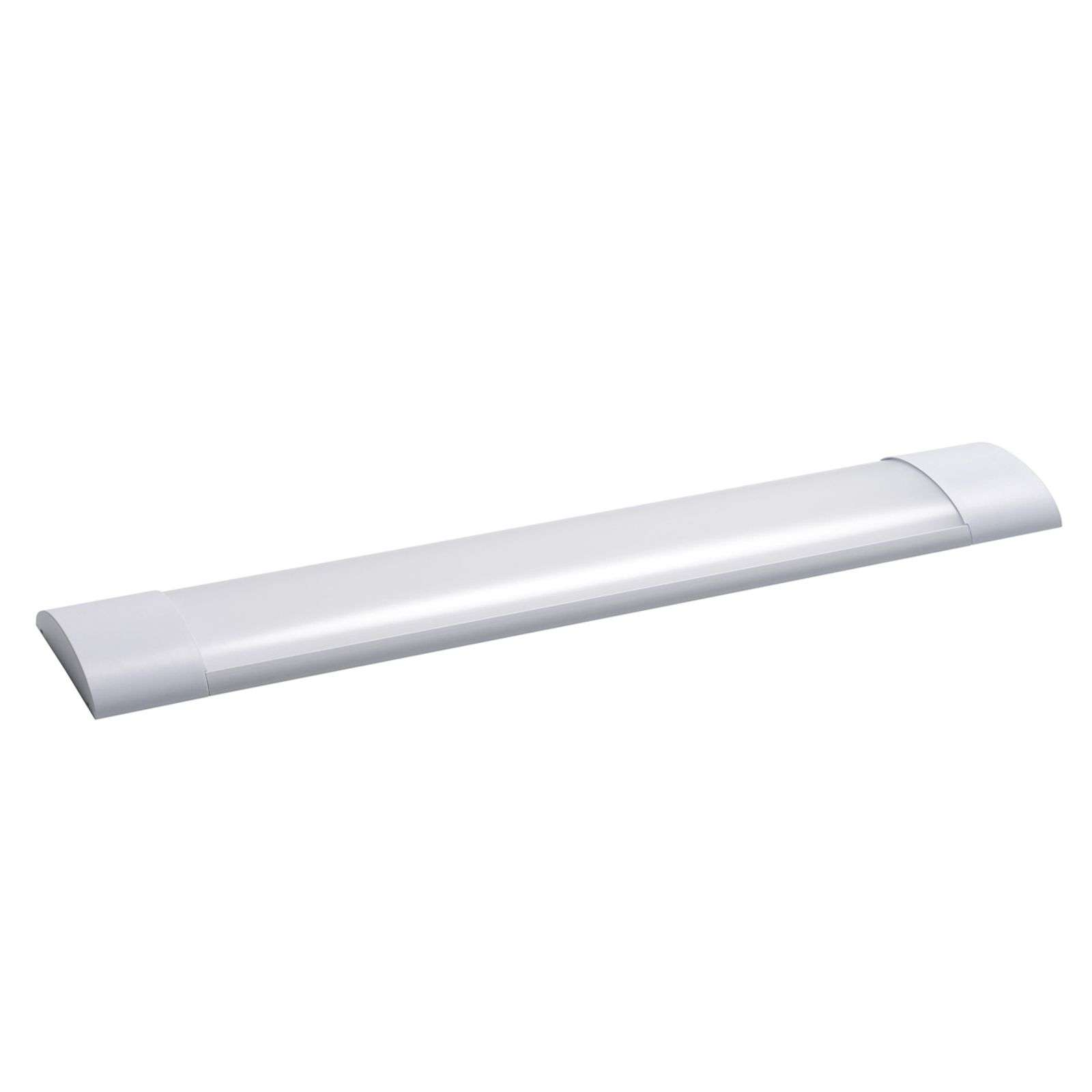 Plafonnier LED Office Dim Flat, longueur 121,3 cm