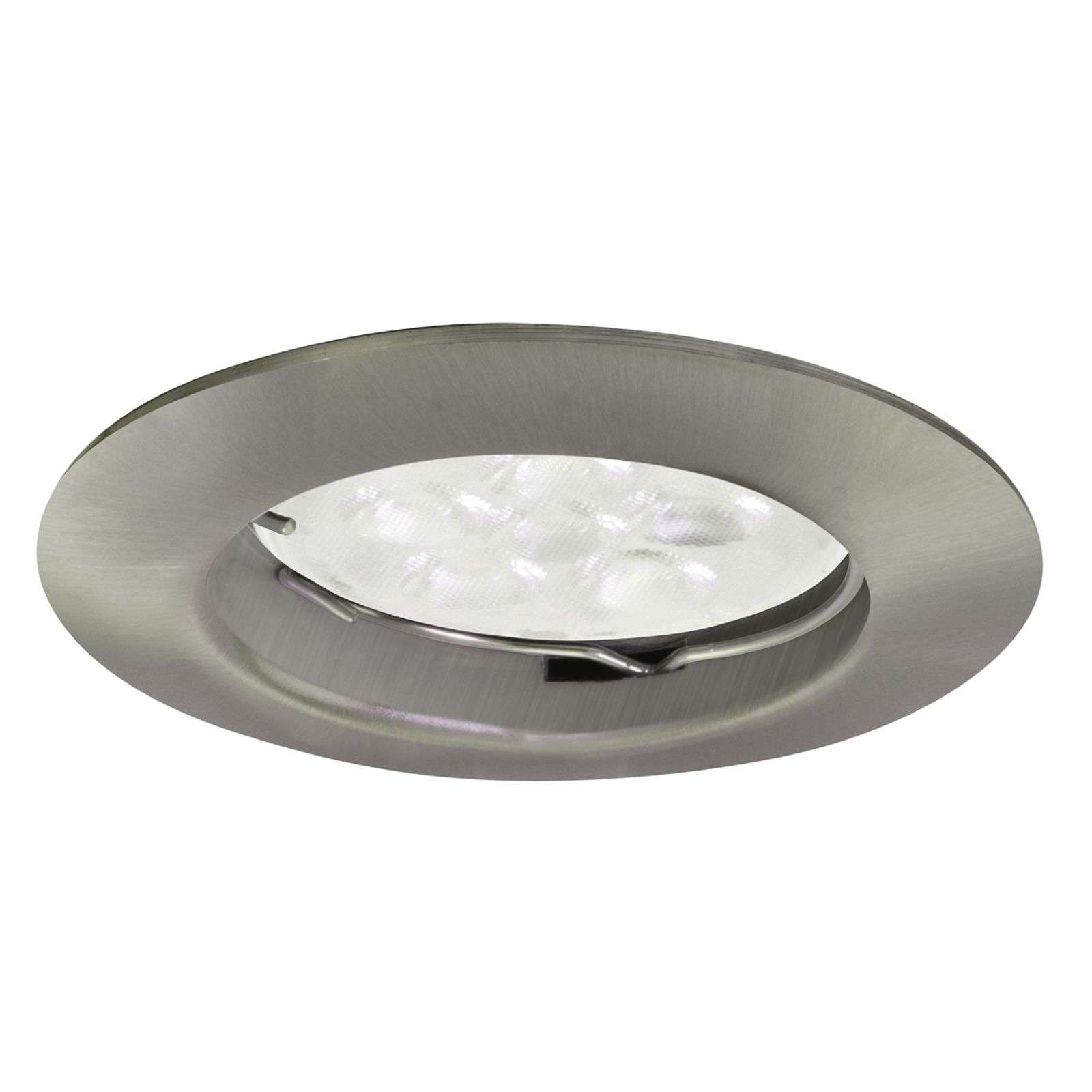 Spot LED Downlight DIM blanc, nickel