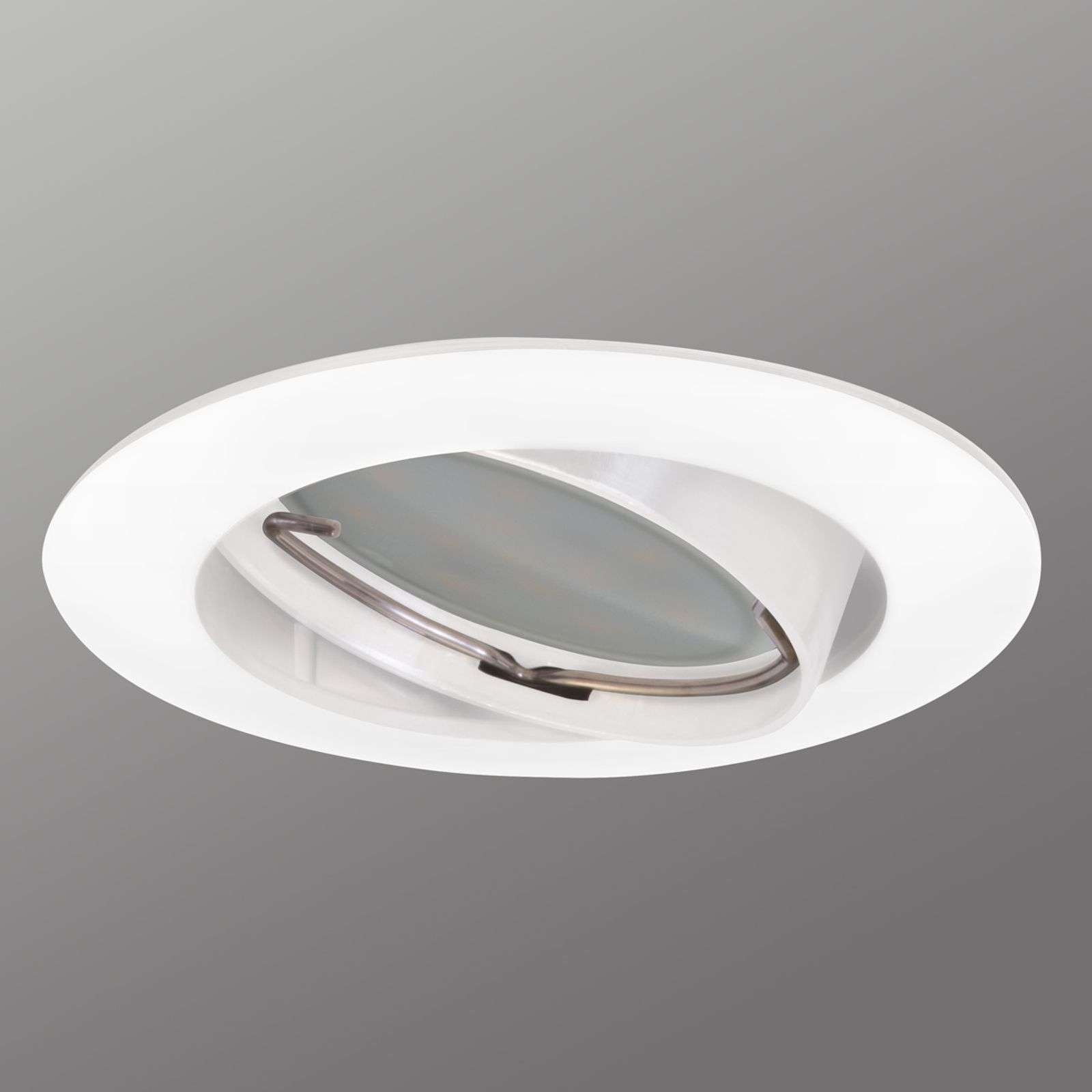 Spot encastrable Downlight DIM Flat, blanc