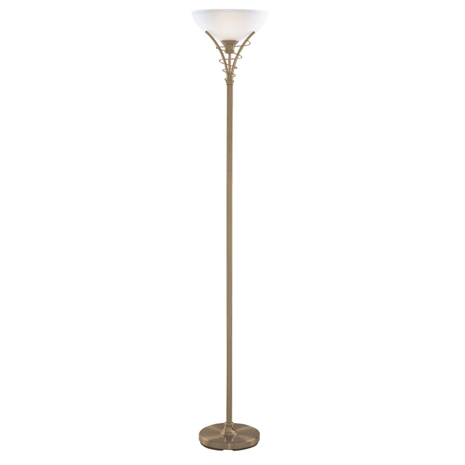 Lampadaire intemporel LINEAS coloris laiton ancien