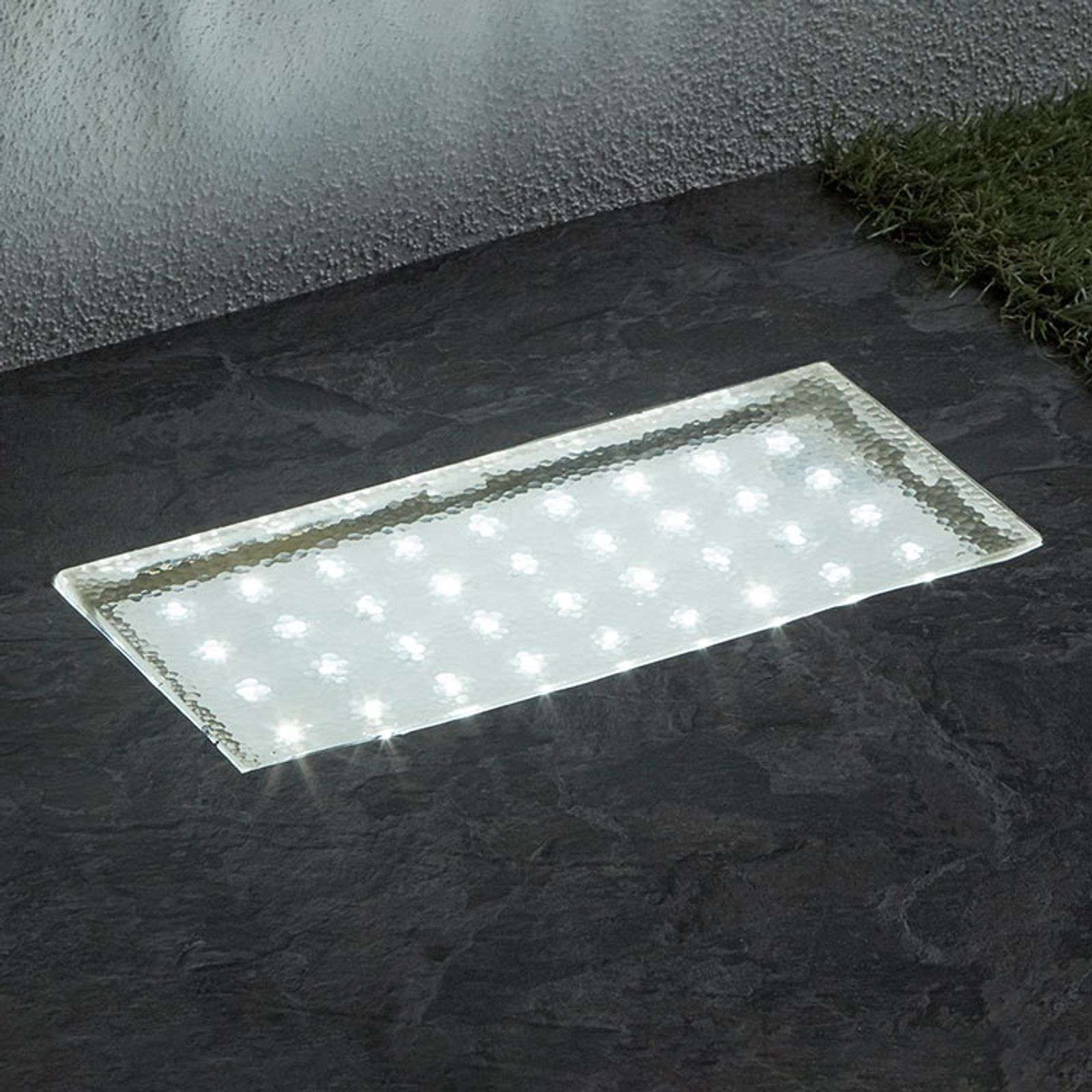 Spot LED encastrable dans le sol Walkover 20 cm