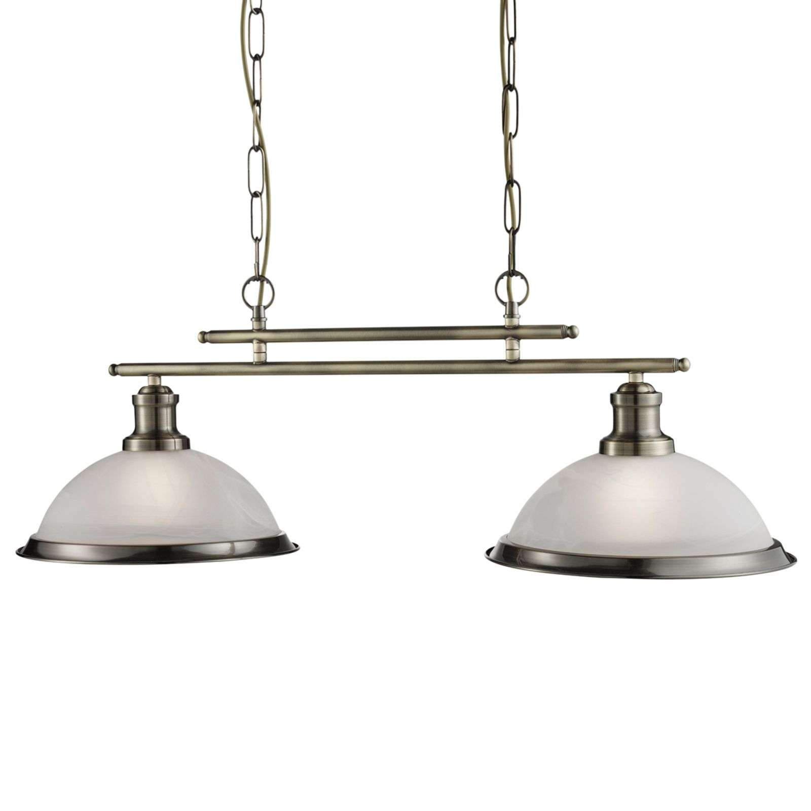 Magnifique suspension Bistro style antique