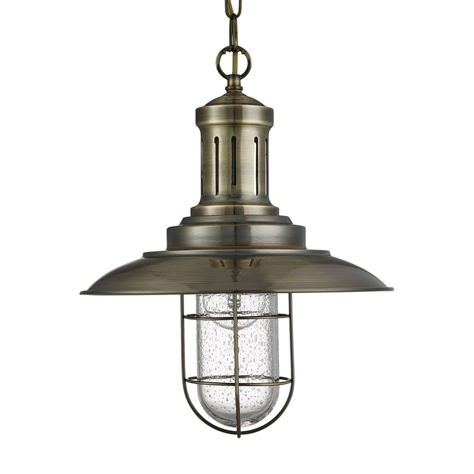 Suspension Fisherman antique avec grille