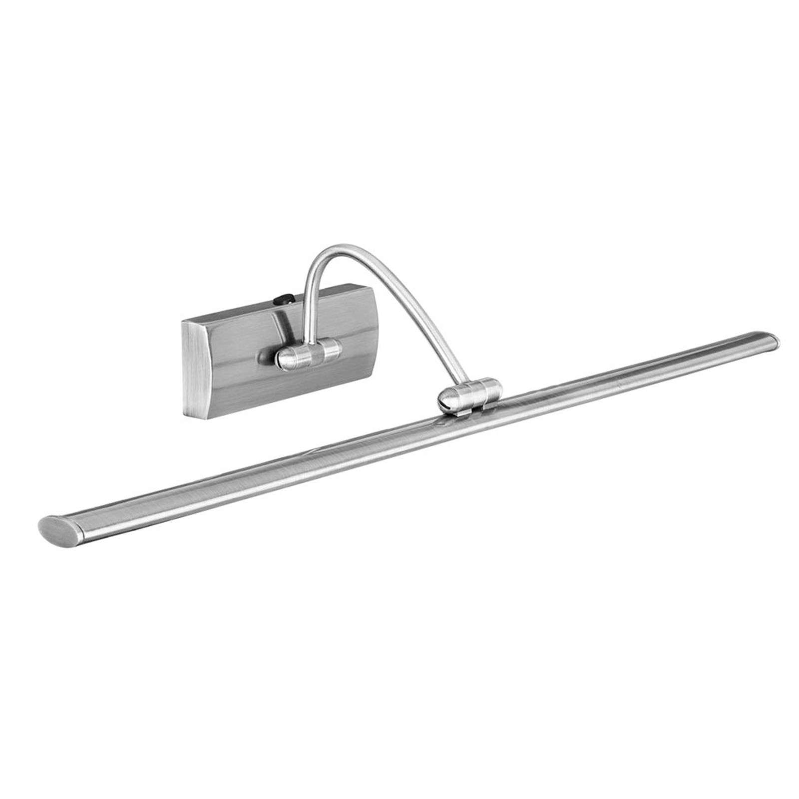 Applique LED à tableau Head, finition nickel