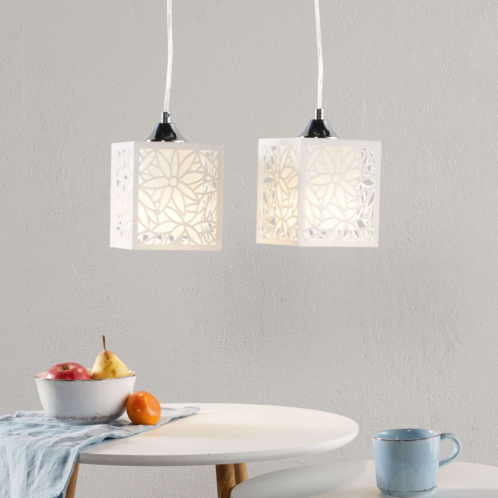 Suspension Anika moderne, 2 lampes