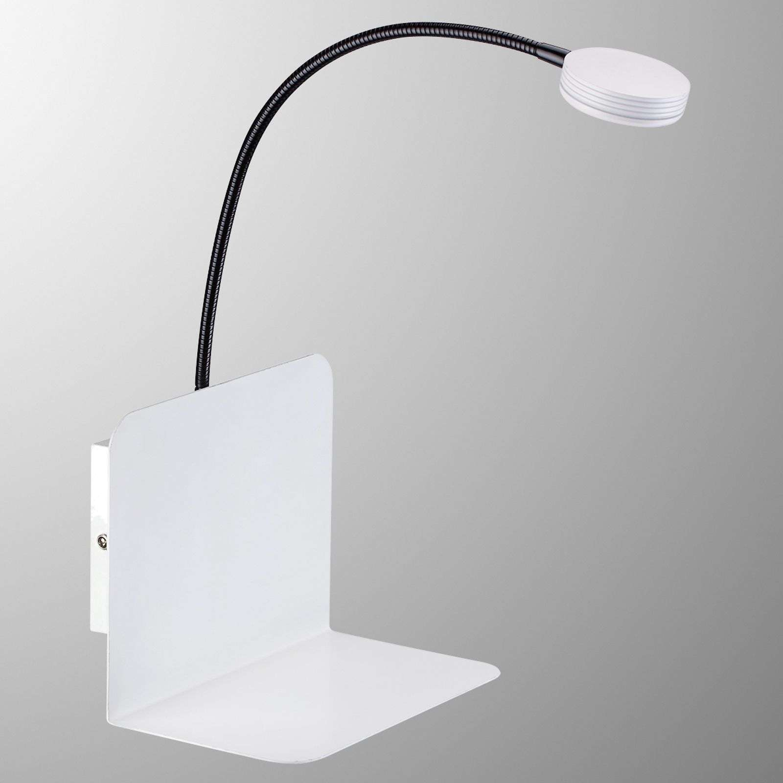 Applique LED Arles pratique, avec tablette