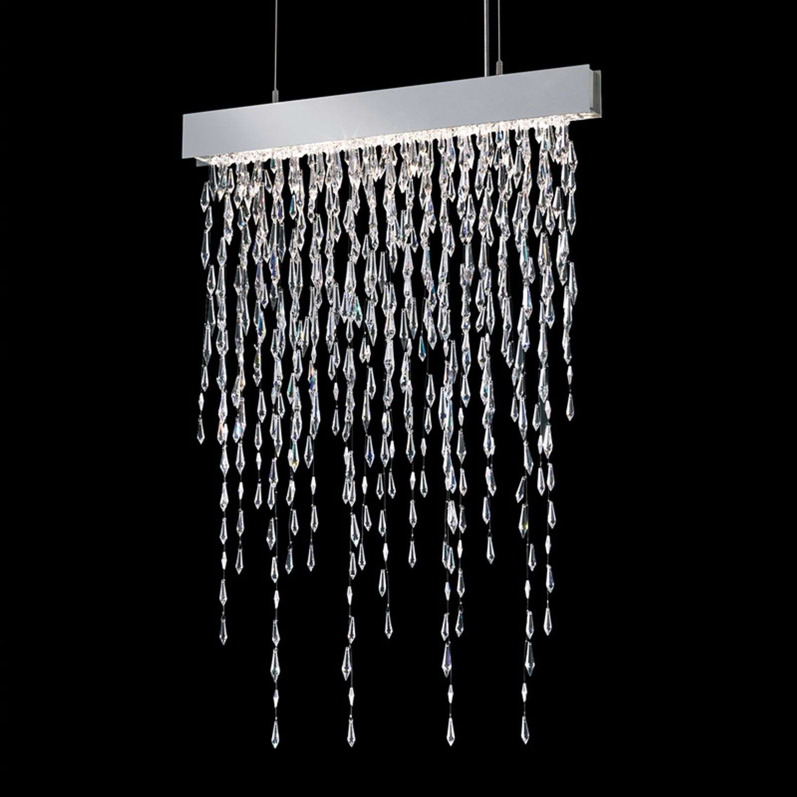 Crystalline Icicles - suspension scintillante