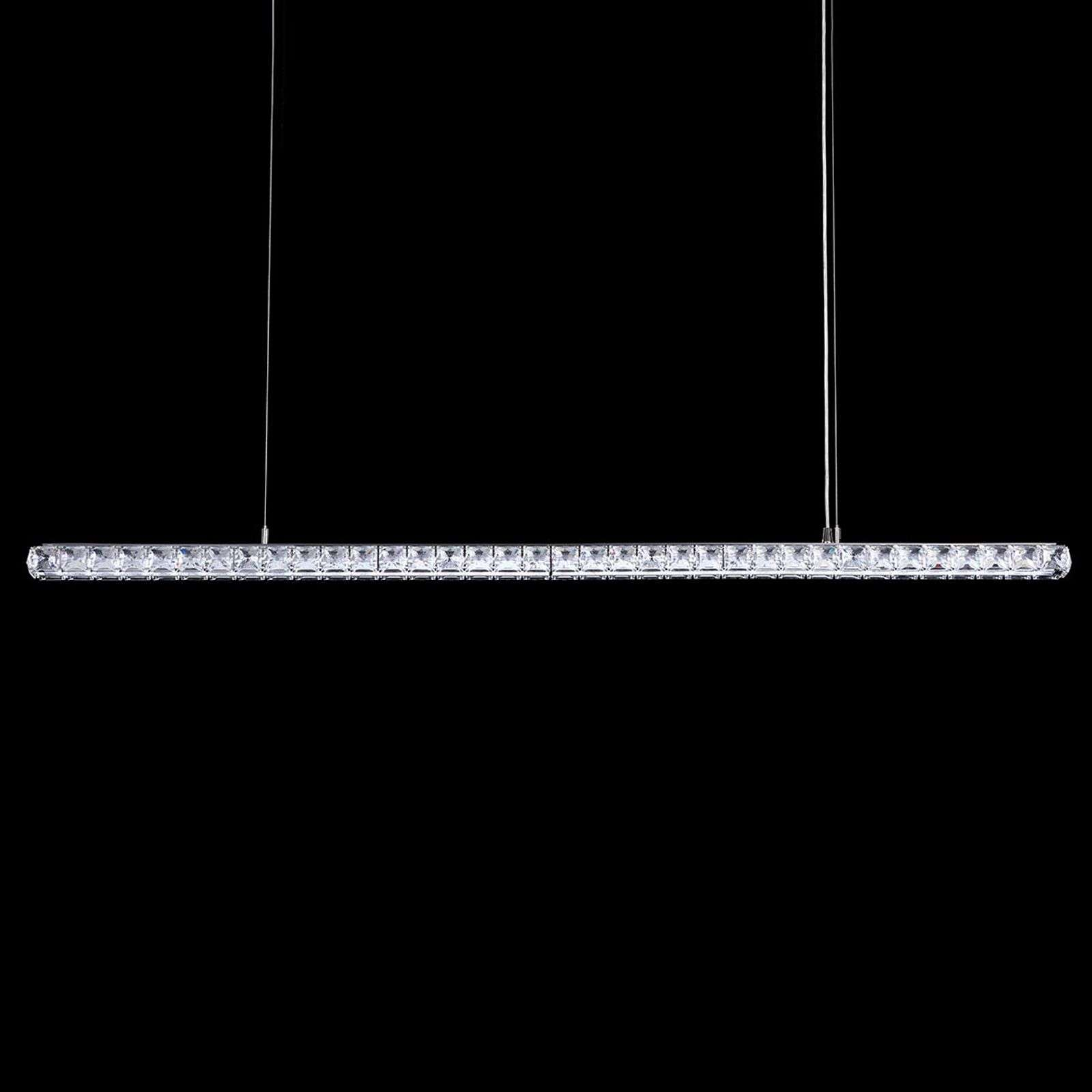 Suspension LED en cristal Dionia de Swarovski