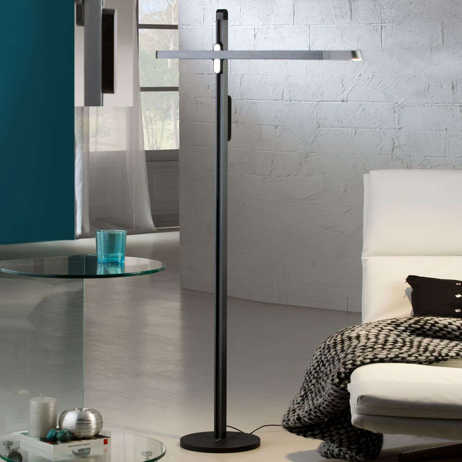 Tecton - lampadaire LED moderne et flexible
