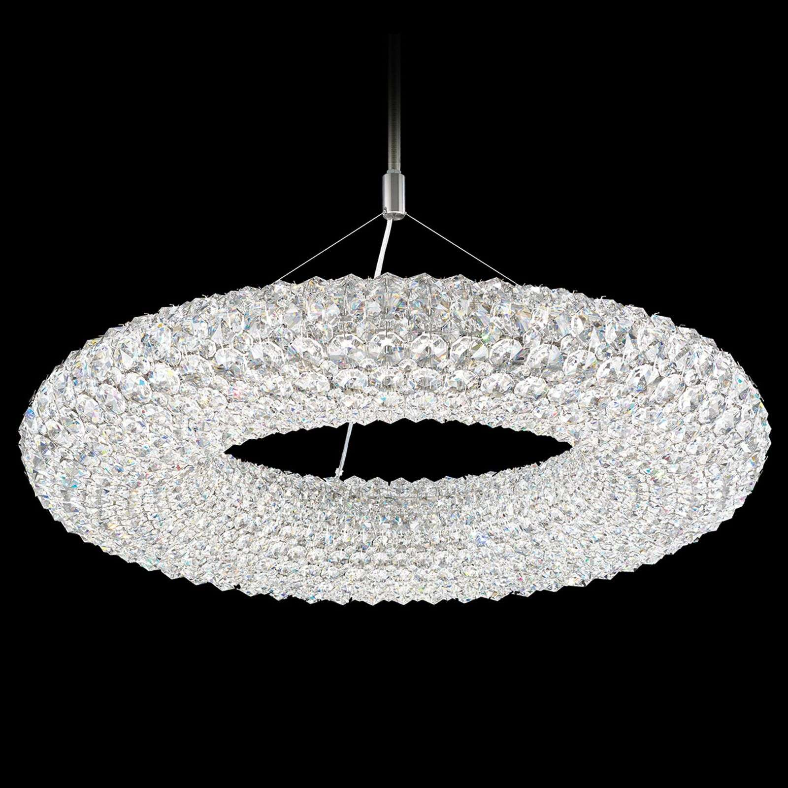 Suspension ronde en cristal Cassini