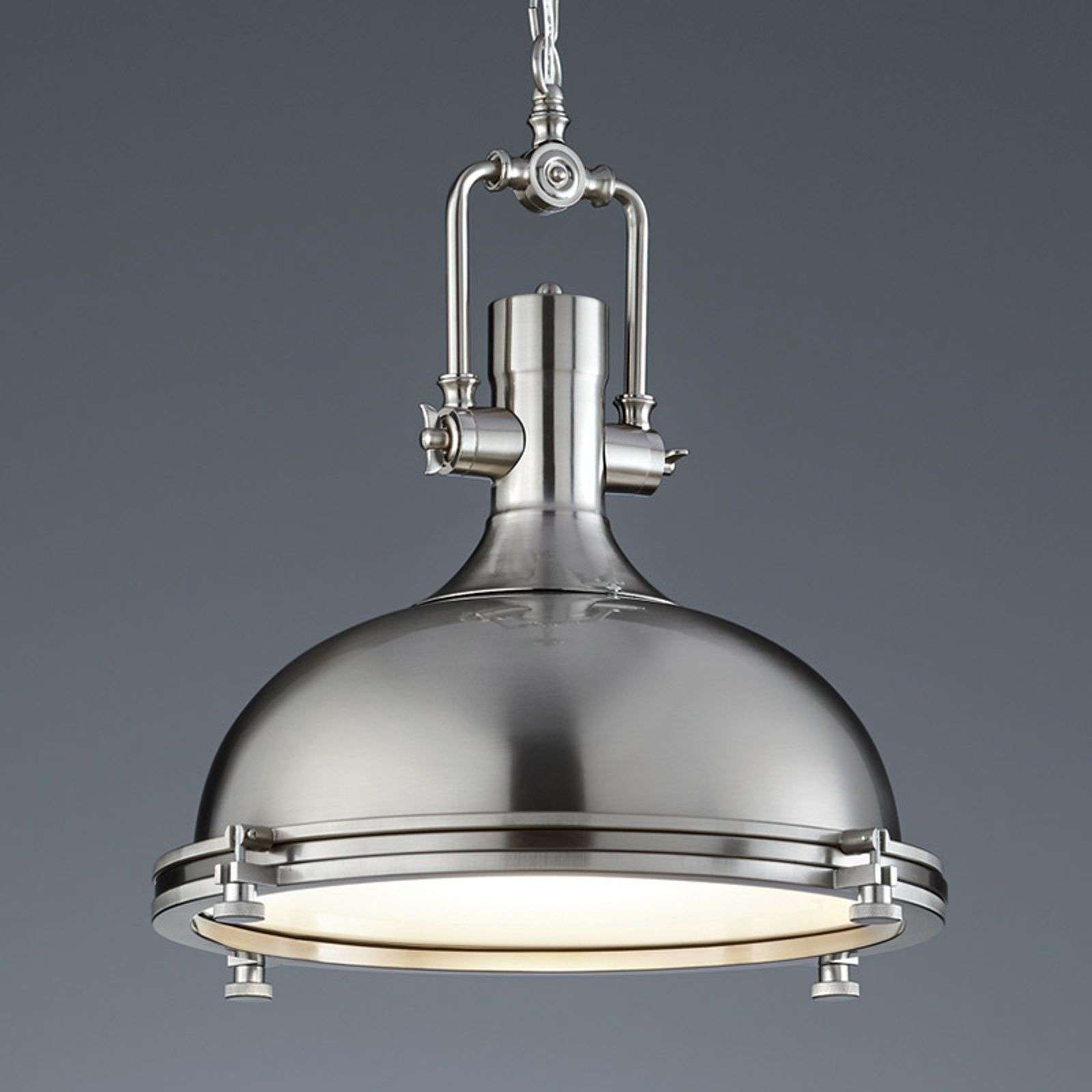 Suspension Boston aspect nickel mat