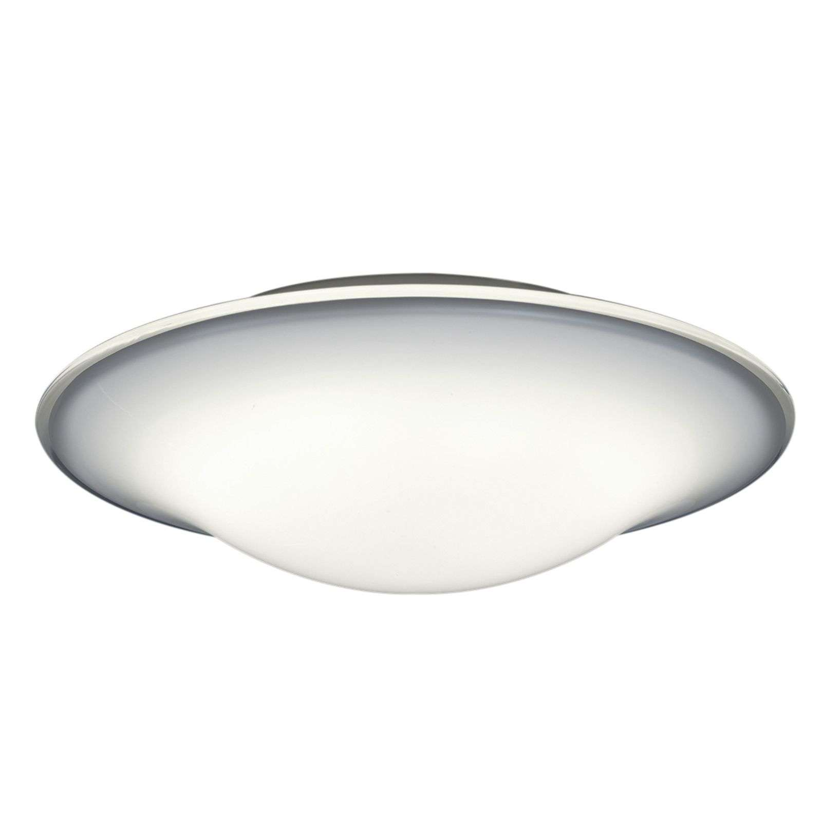 Plafonnier LED Milano, simple et rond