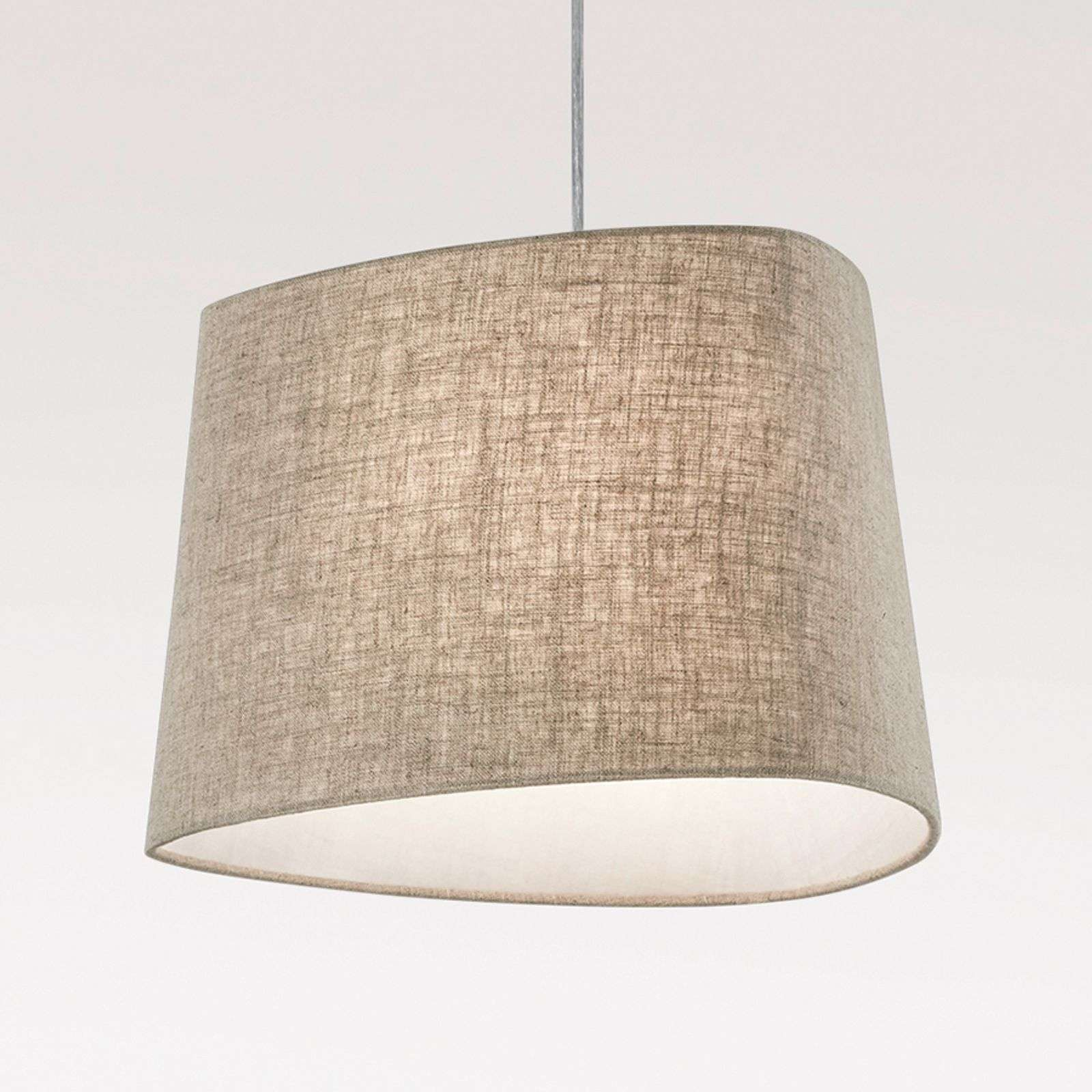 Suspension textile Crosby, brun clair