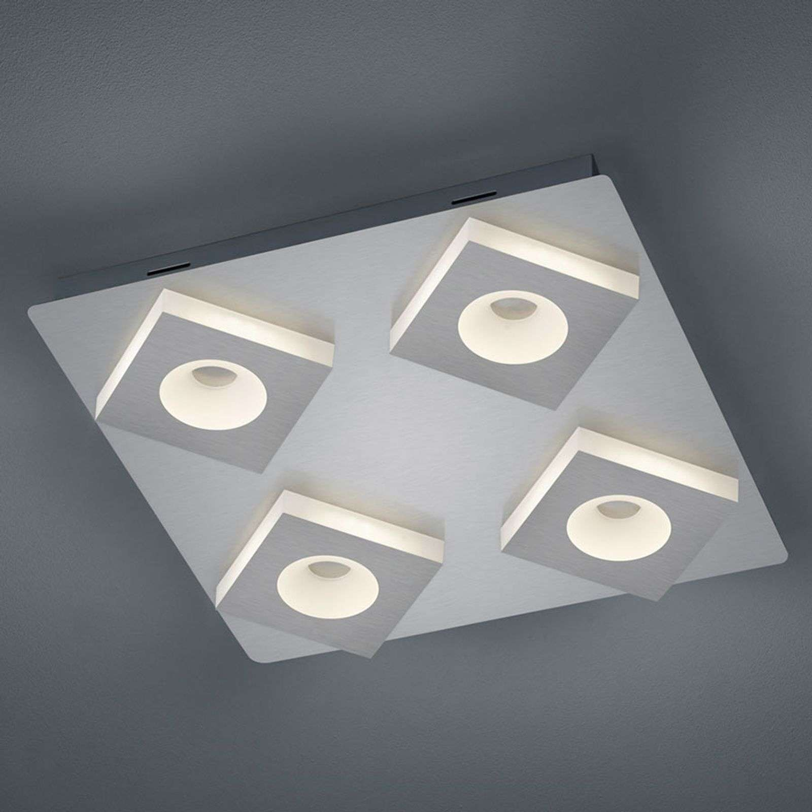 Plafonnier LED Atlanta très moderne, dimmable