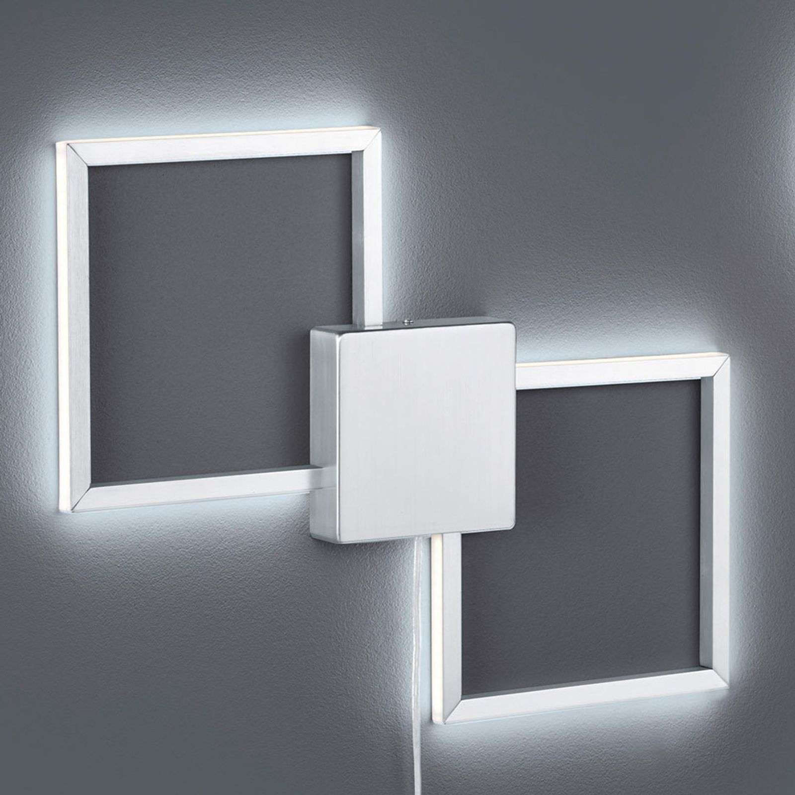Applique LED dimmable Hydra de forme carrée
