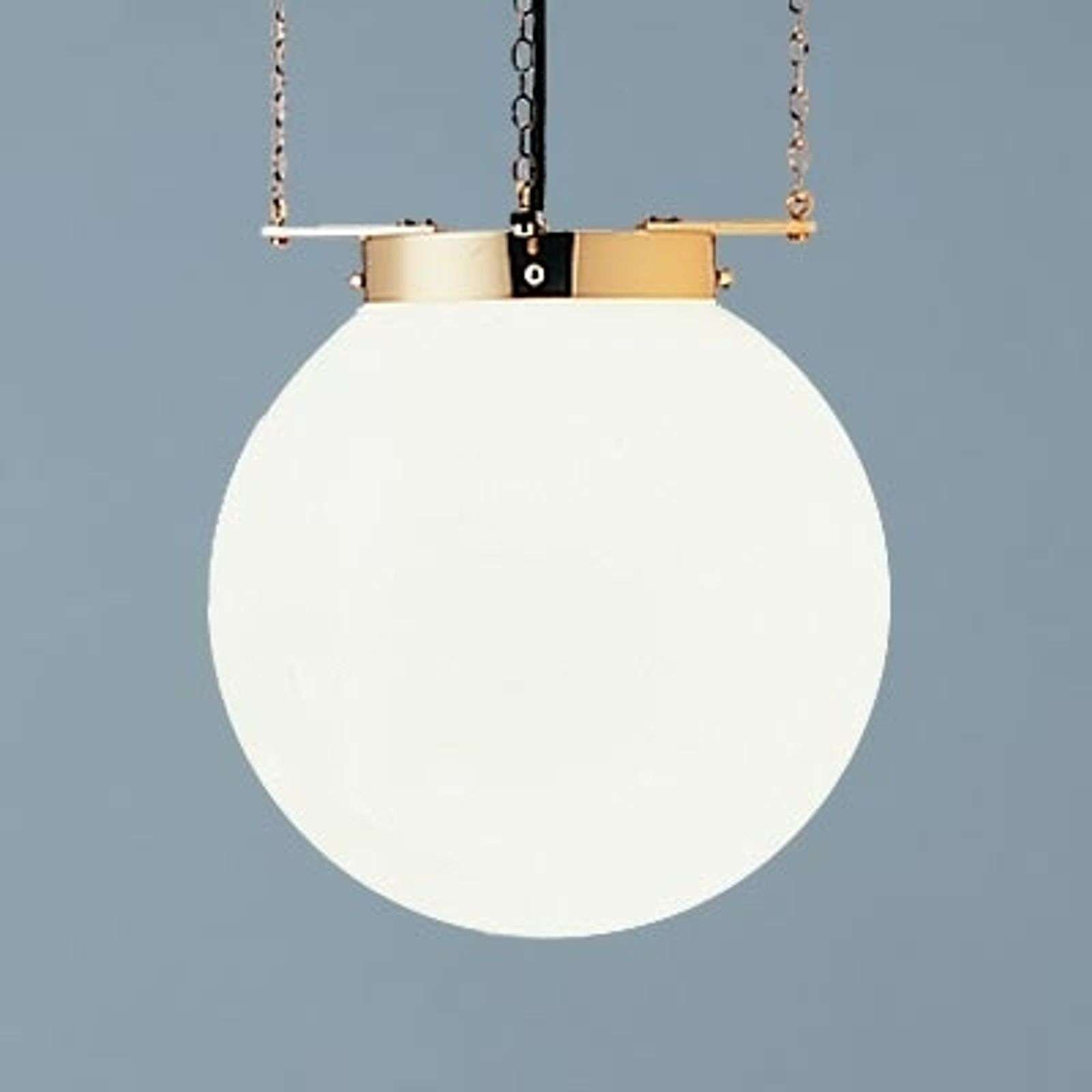 Suspension laiton style Bauhaus 30 cm