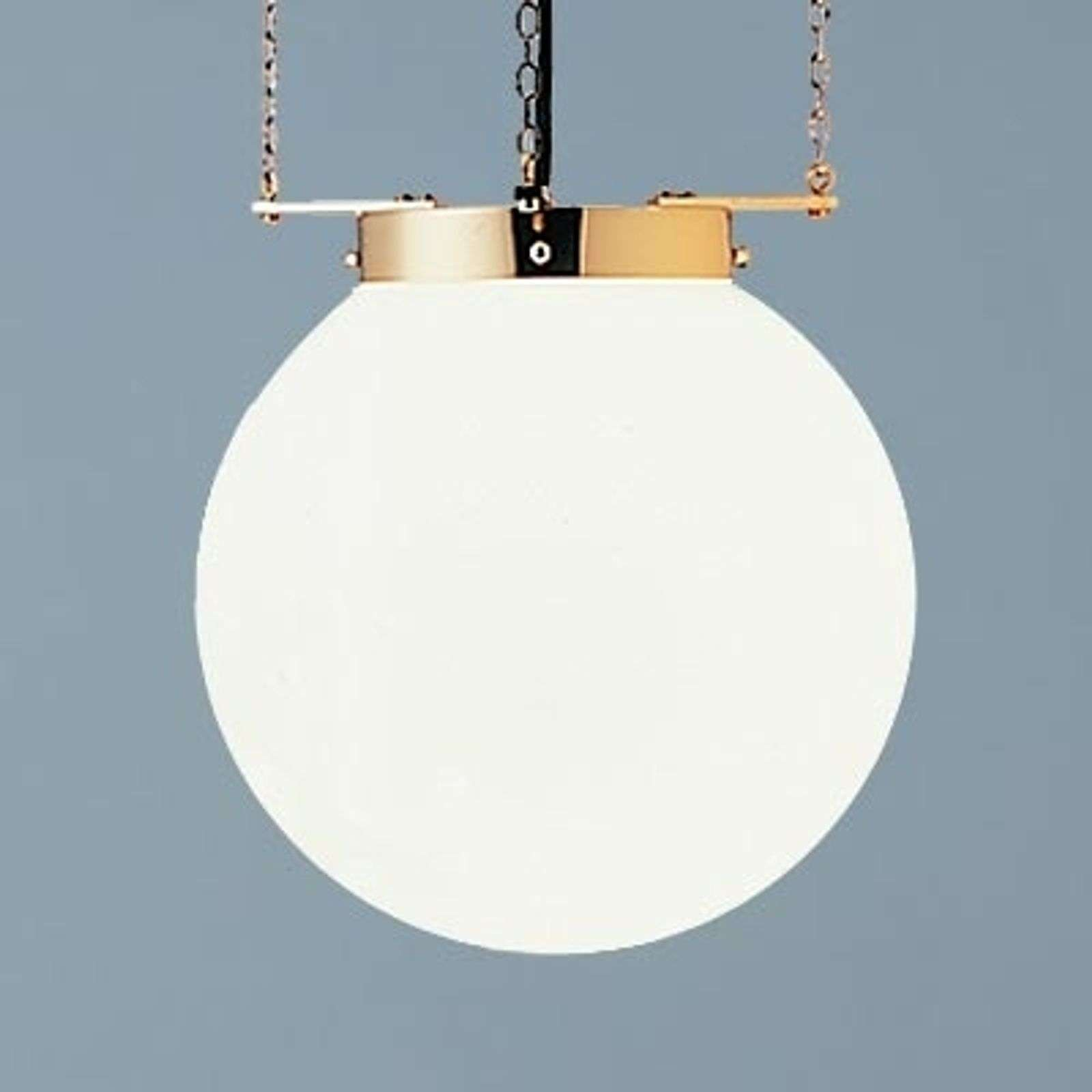 Suspension laiton style Bauhaus 35 cm