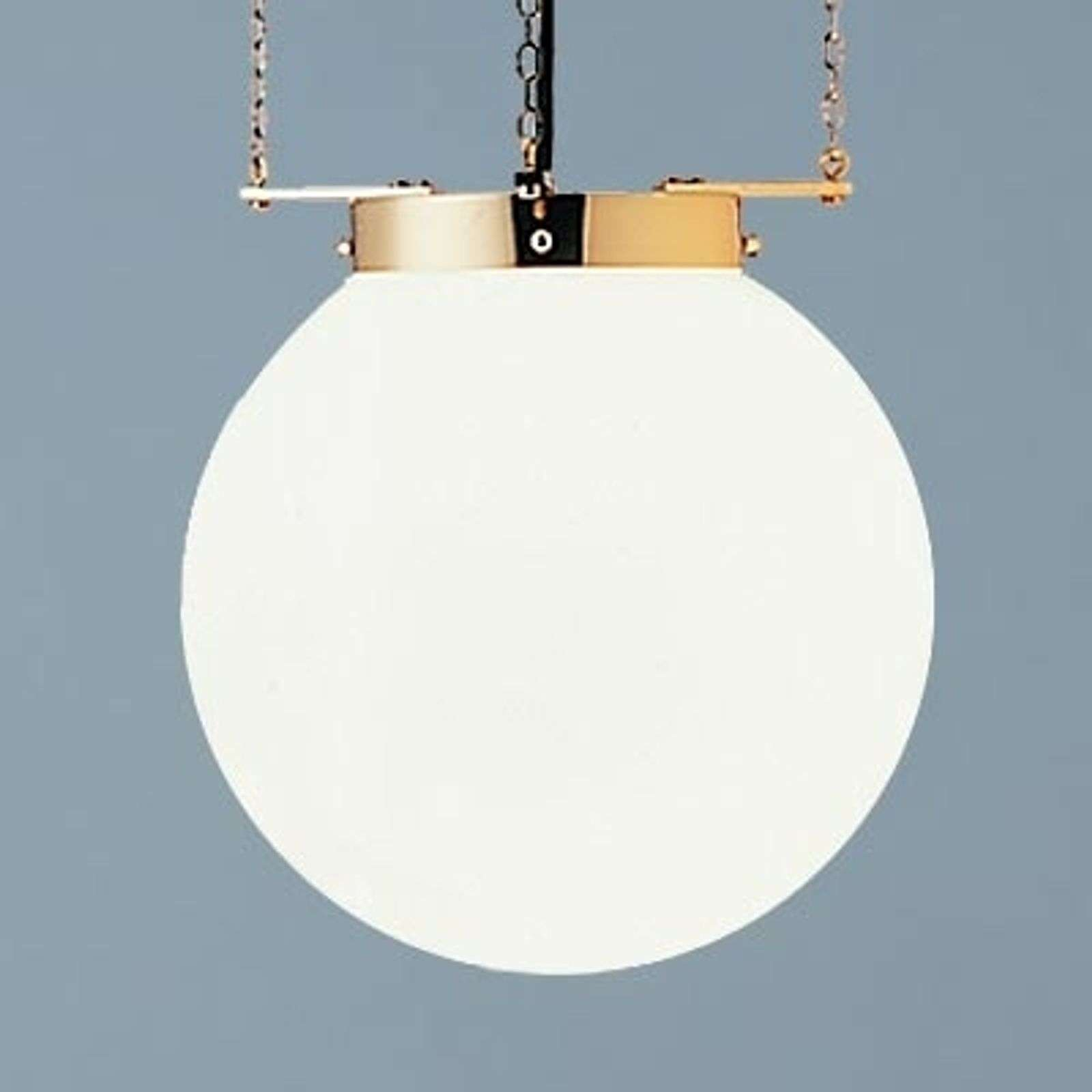 Suspension laiton style Bauhaus 40 cm