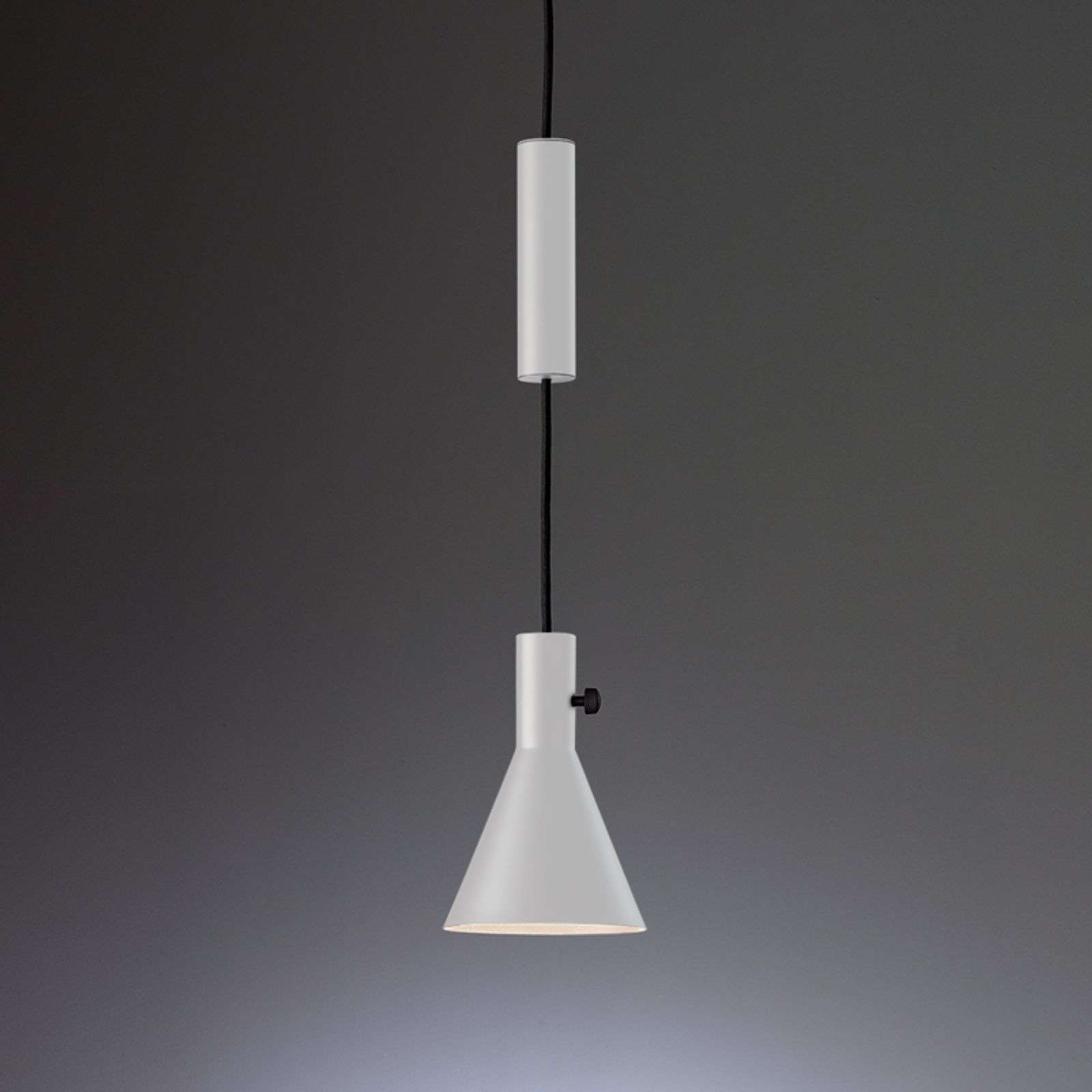 Suspension LED de designer blanche Eleu