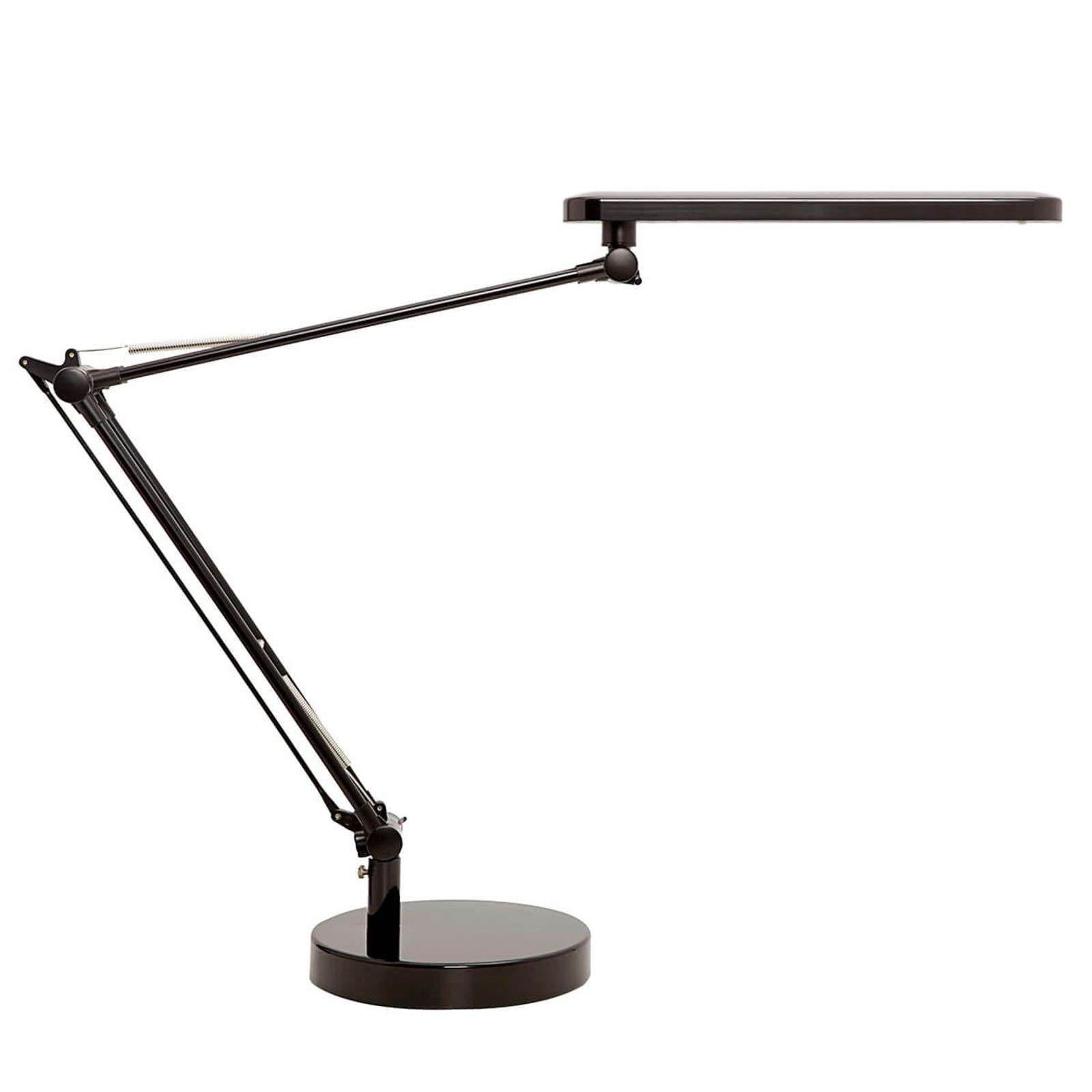 Lampe de bureau LED MamboLED flexible, noire