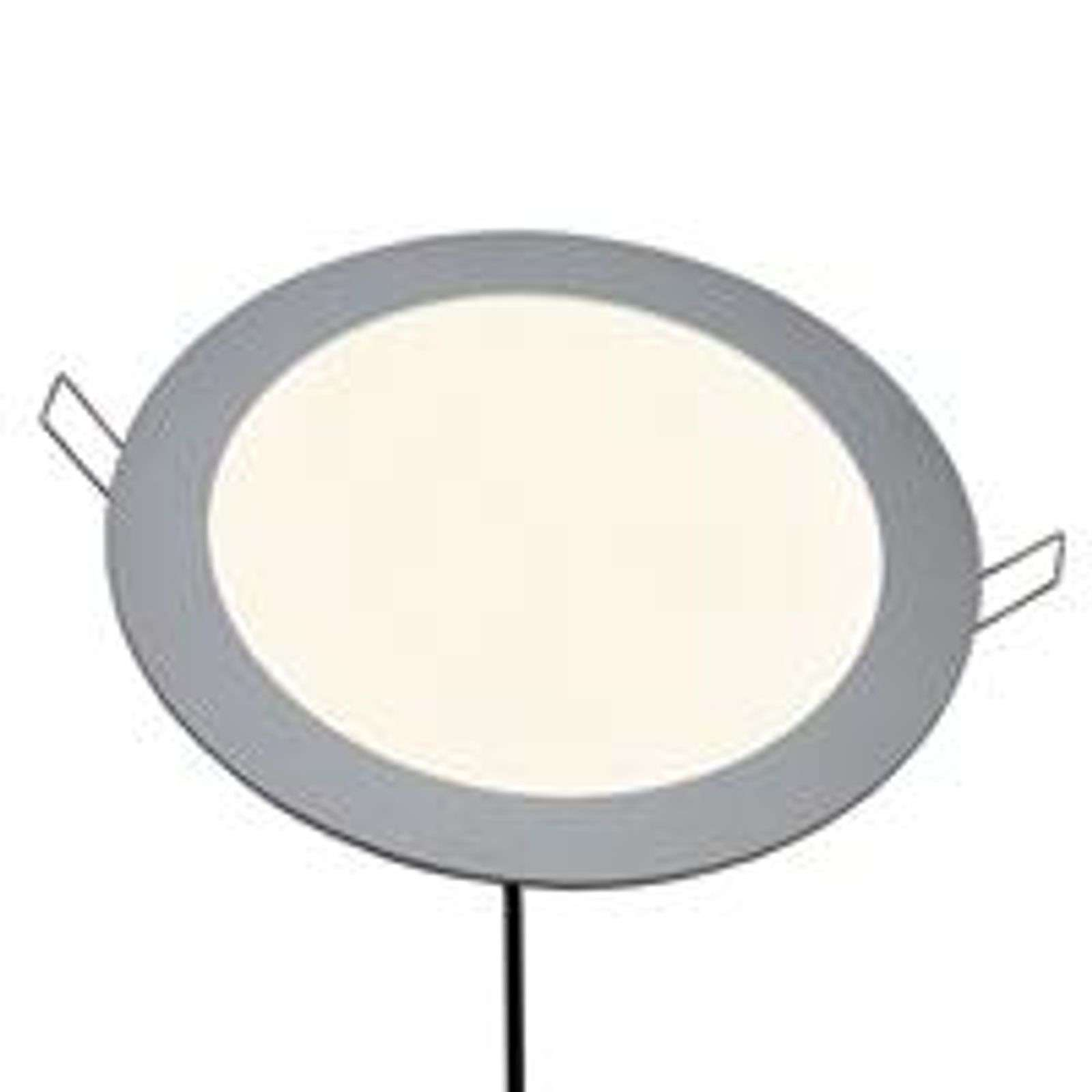 Spot encastrable LED Sidonie, rond, blanc chaud