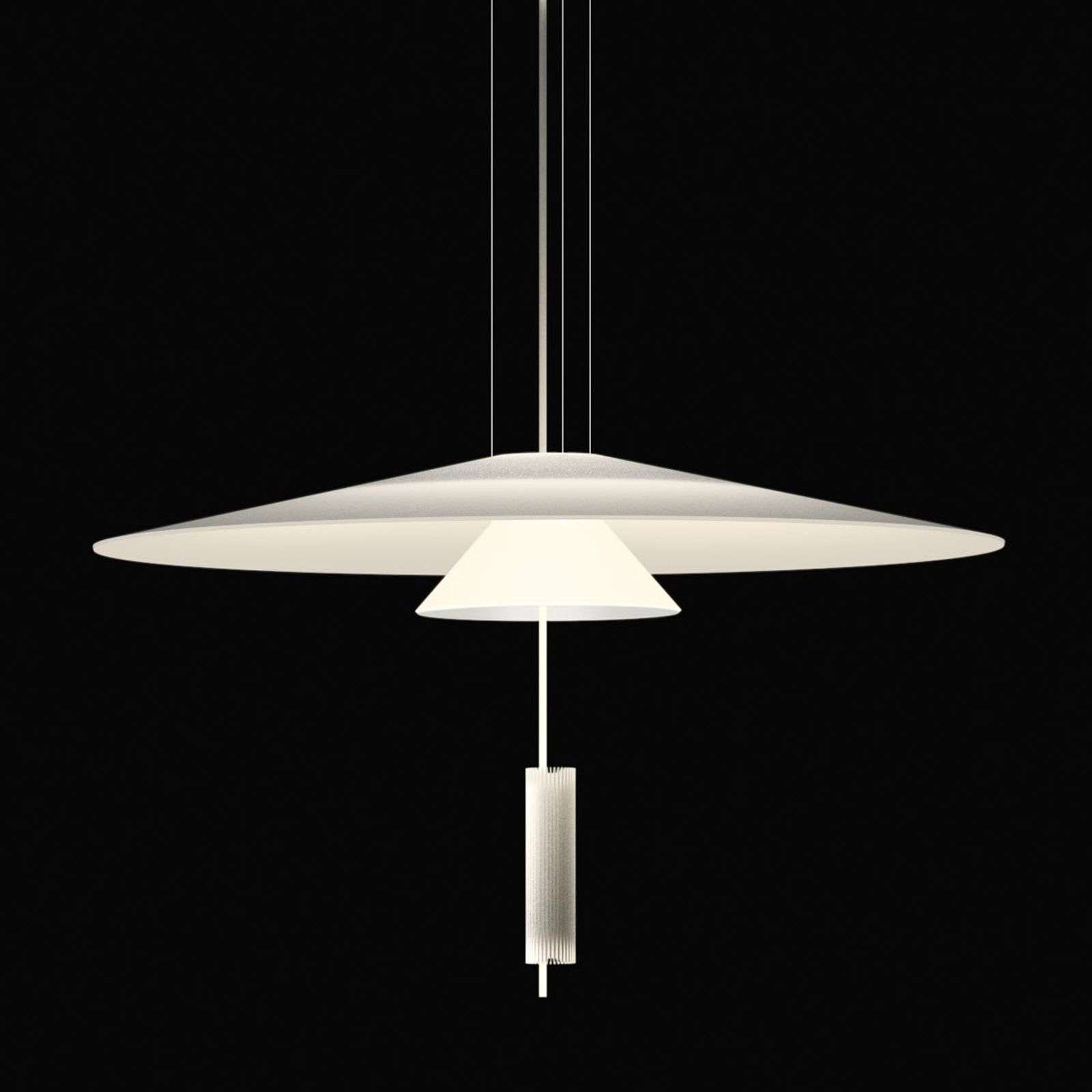Suspension design Flamingo avec éclairage LED